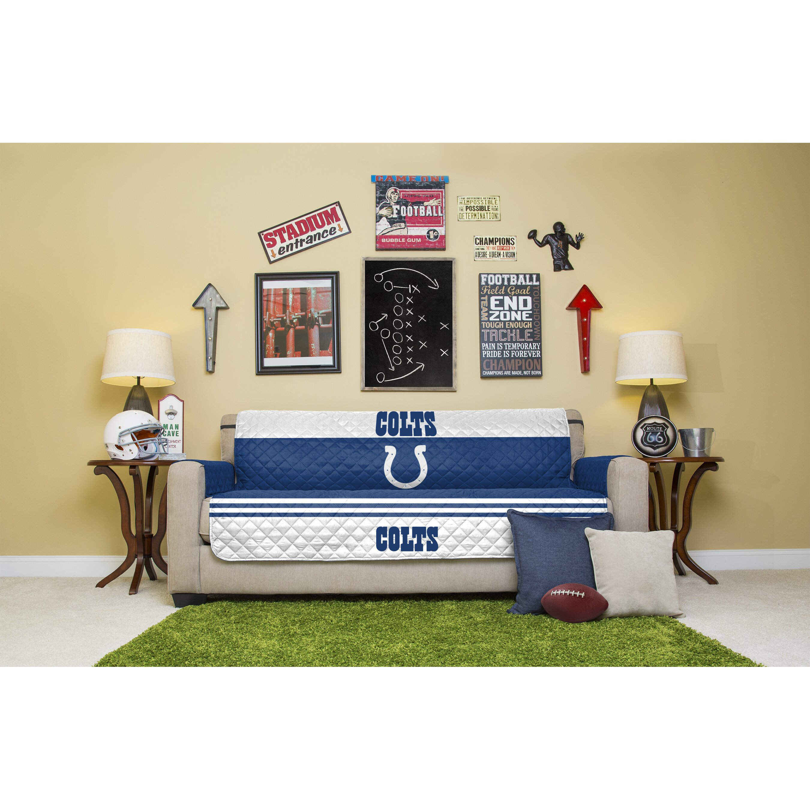 Pegasus Home Fashions Nfl Sofa Slipcover Wayfair Ca