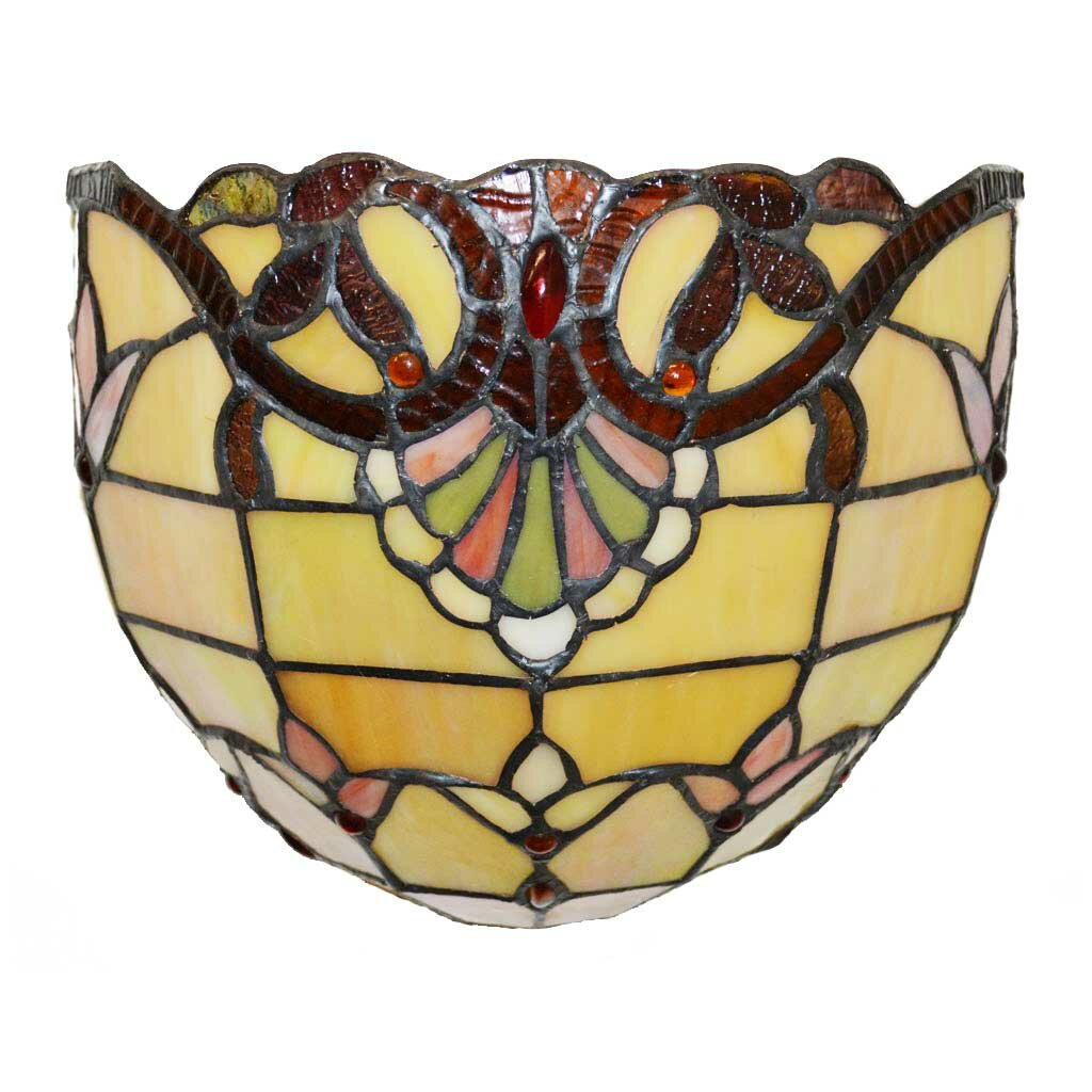Wall Sconces Tiffany Stained Glass