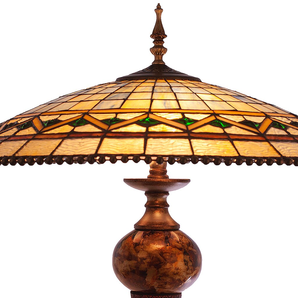 river of goods stained glass 28 table lamp wayfair. Black Bedroom Furniture Sets. Home Design Ideas