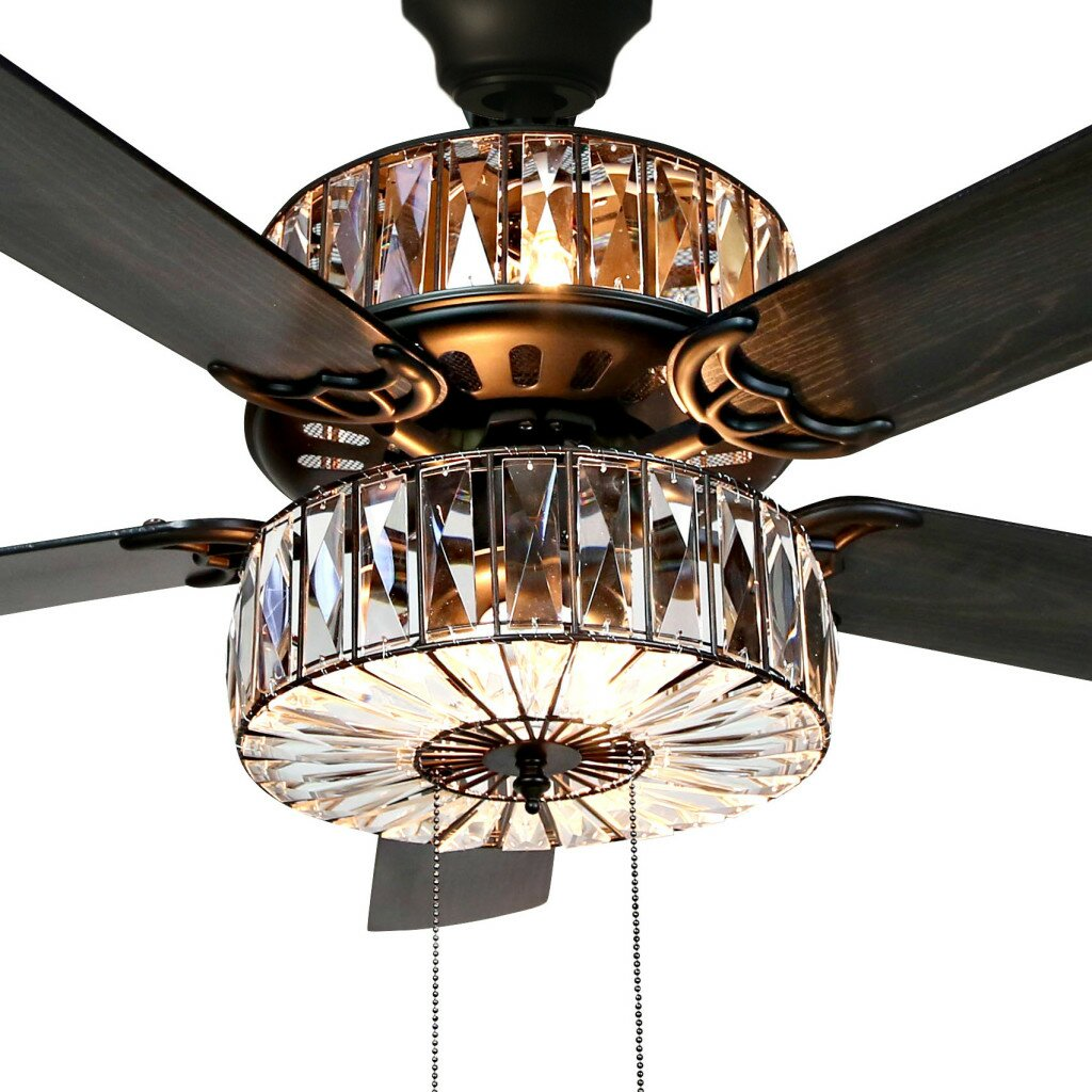 52 Quot Robinson 5 Blade Ceiling Fan With Remote Amp Reviews