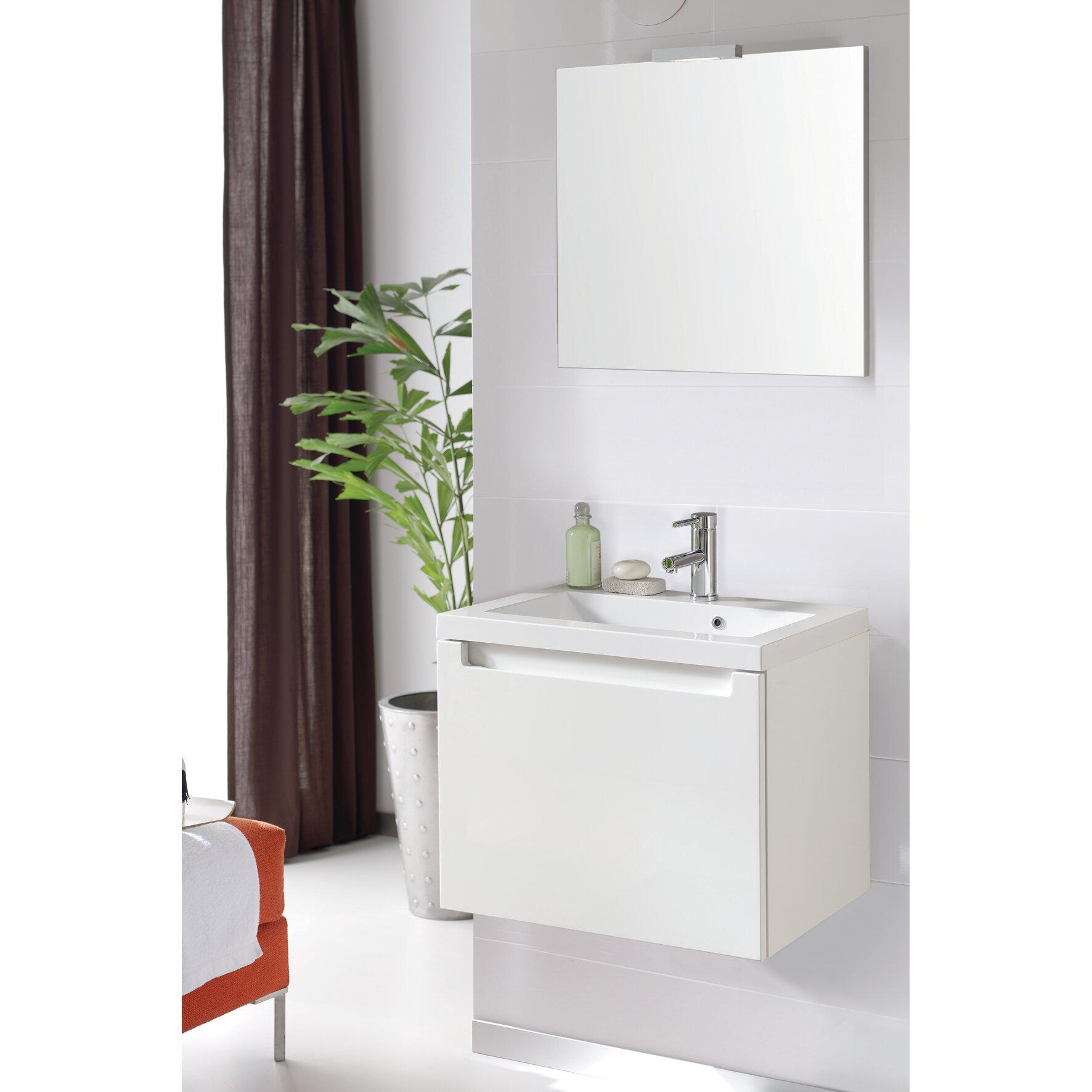 Bathroom vanity and mirror set vanity mirror set awesome for Bobs furniture bathroom vanity