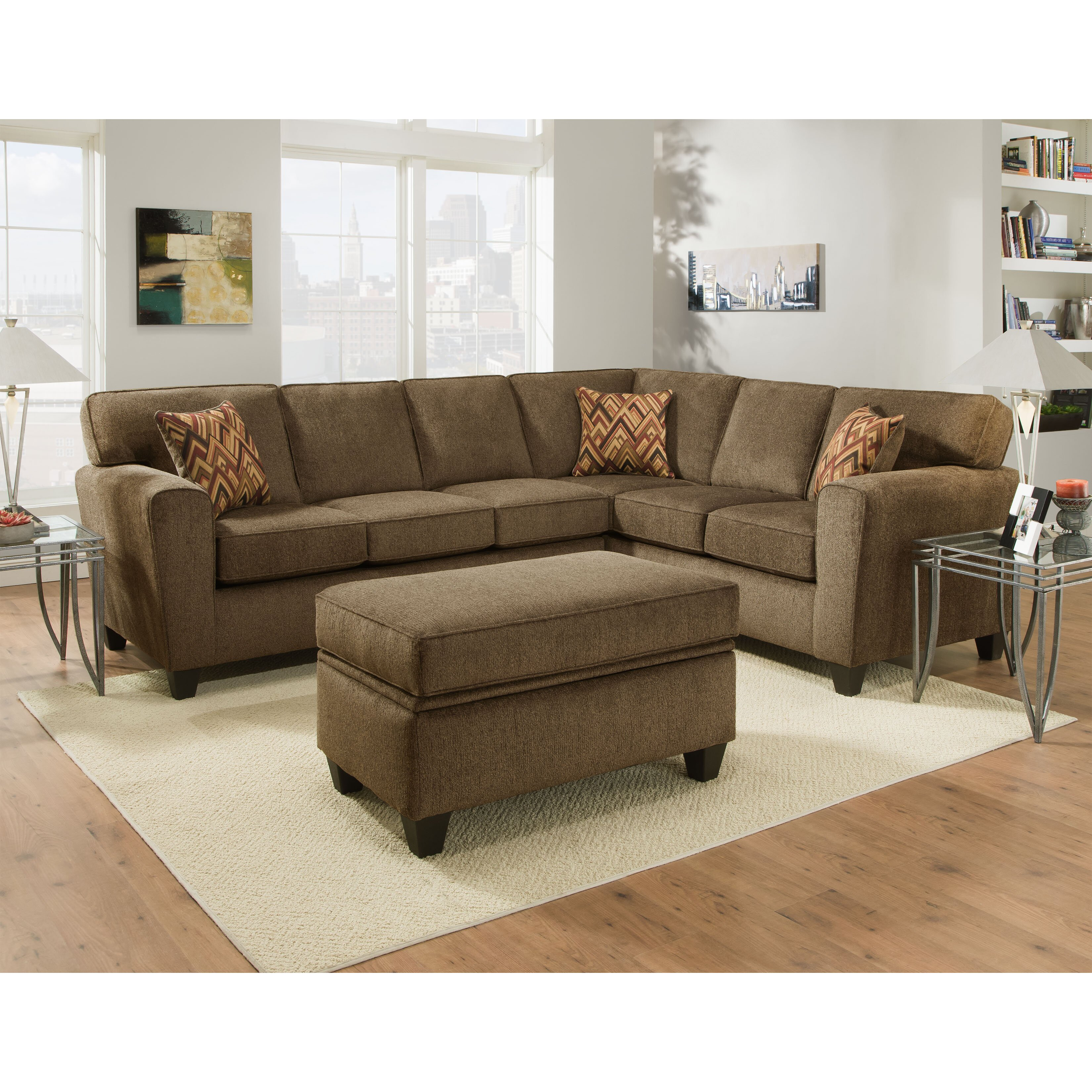 Brady Furniture Industries Pulaski Sectional Reviews Wayfair