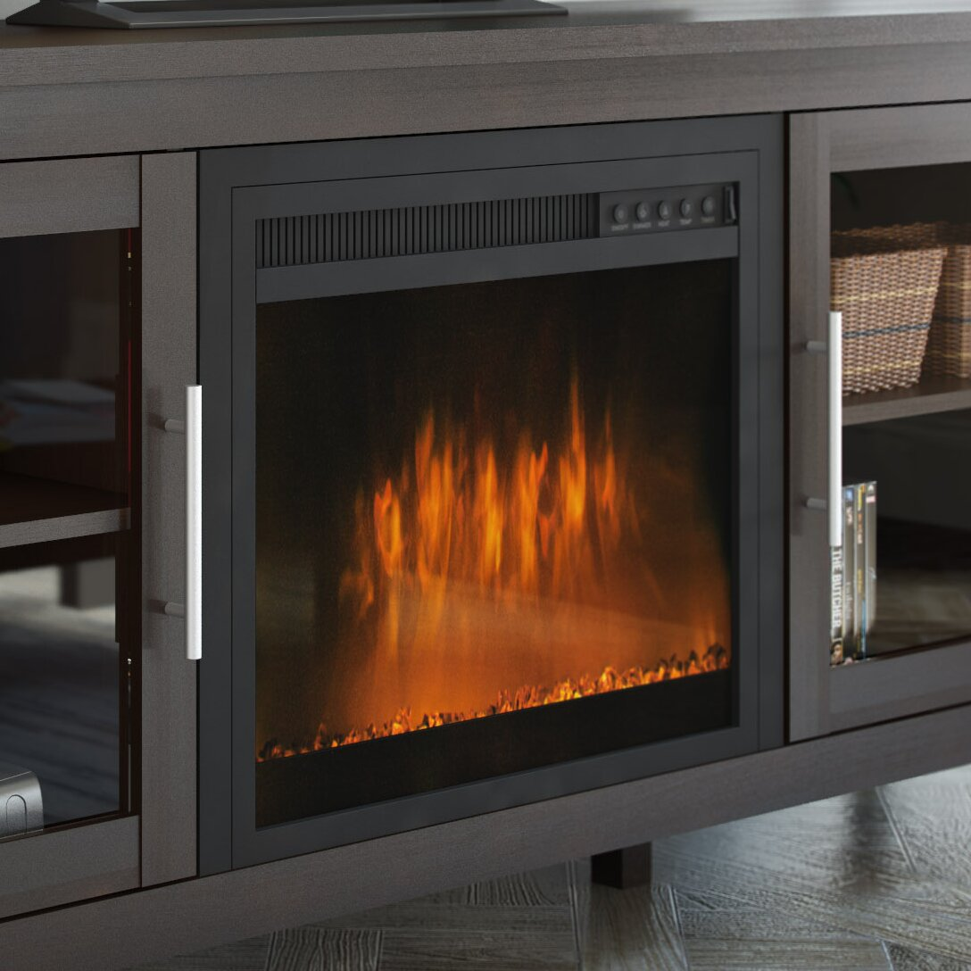 CorLiving Electric Fireplace Insert - CorLiving Electric Fireplace Insert & Reviews Wayfair