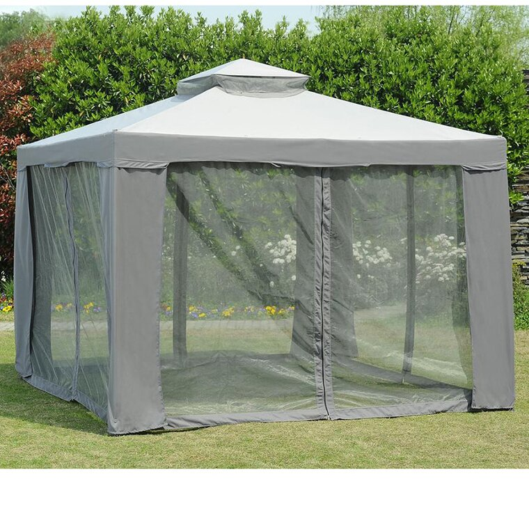 Sunjoy replacement mosquito netting for 10 39 w x 10 39 d - Small gazebo with netting ...
