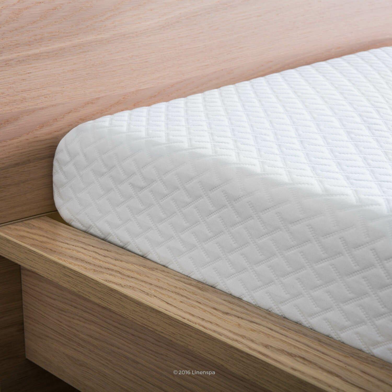 """Linenspa 5"""" Medium Firm Gel Memory Foam Mattress & Reviews"""