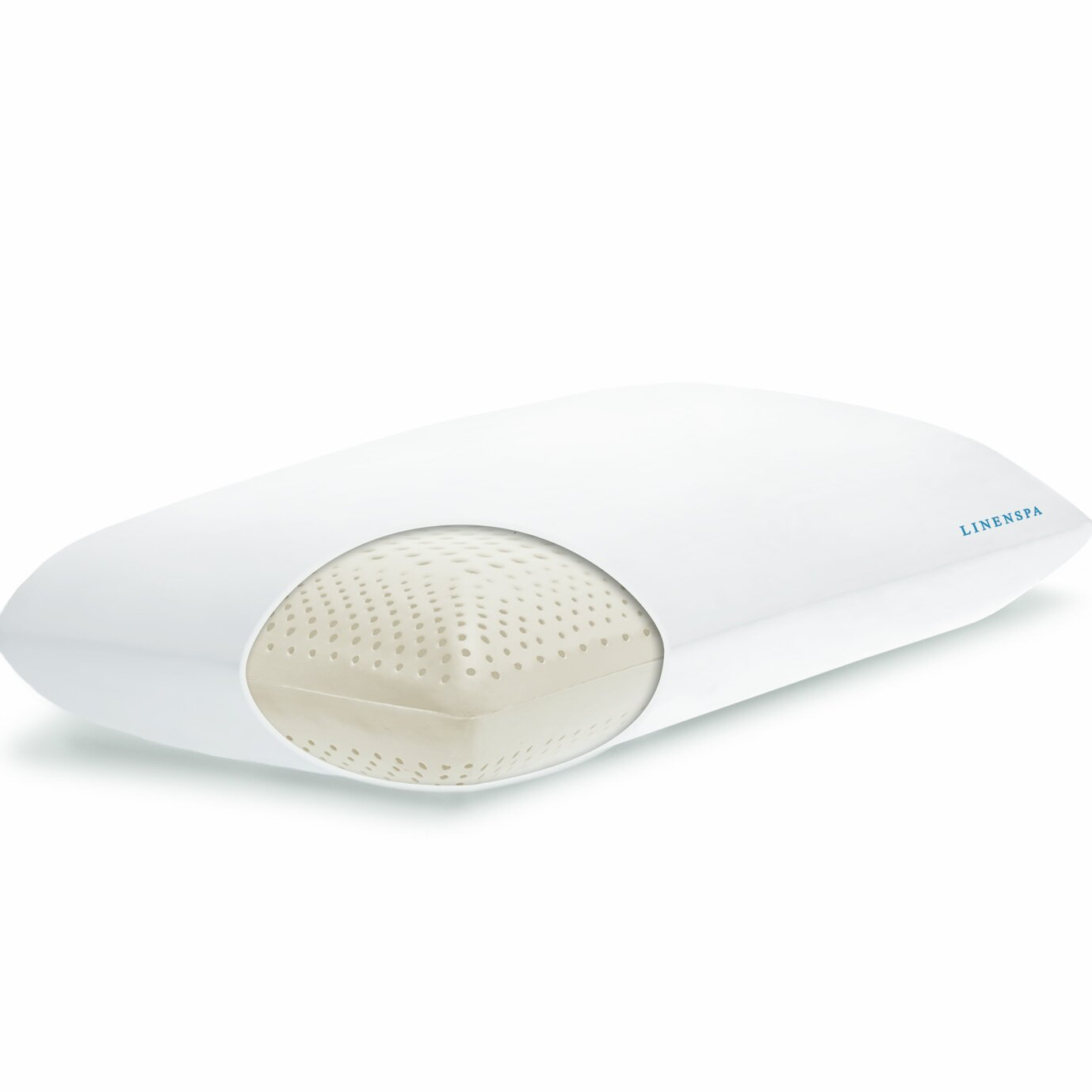 Spa Supreme Traditional Memory Foam Pillow : Linenspa Dual Zone Memory Foam 100 % Cotton Pillow & Reviews Wayfair.ca