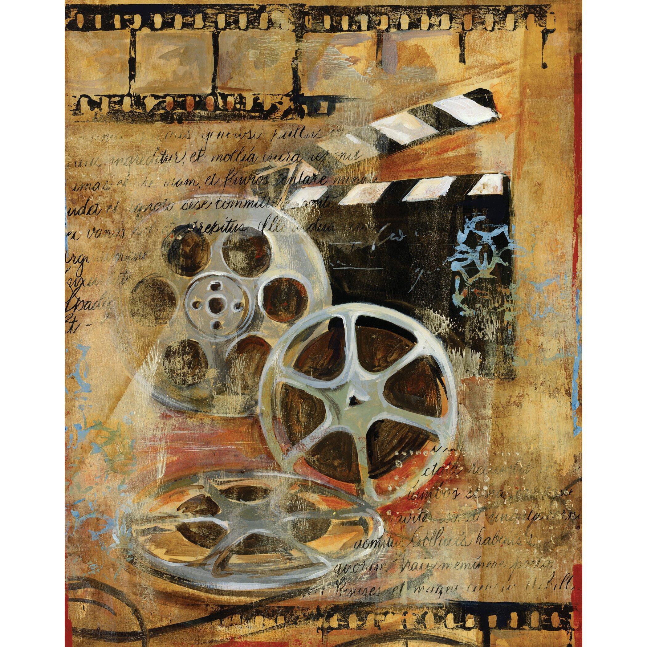 Portfolio canvas dramatique i by georgie 2 piece graphic for Art dramatique