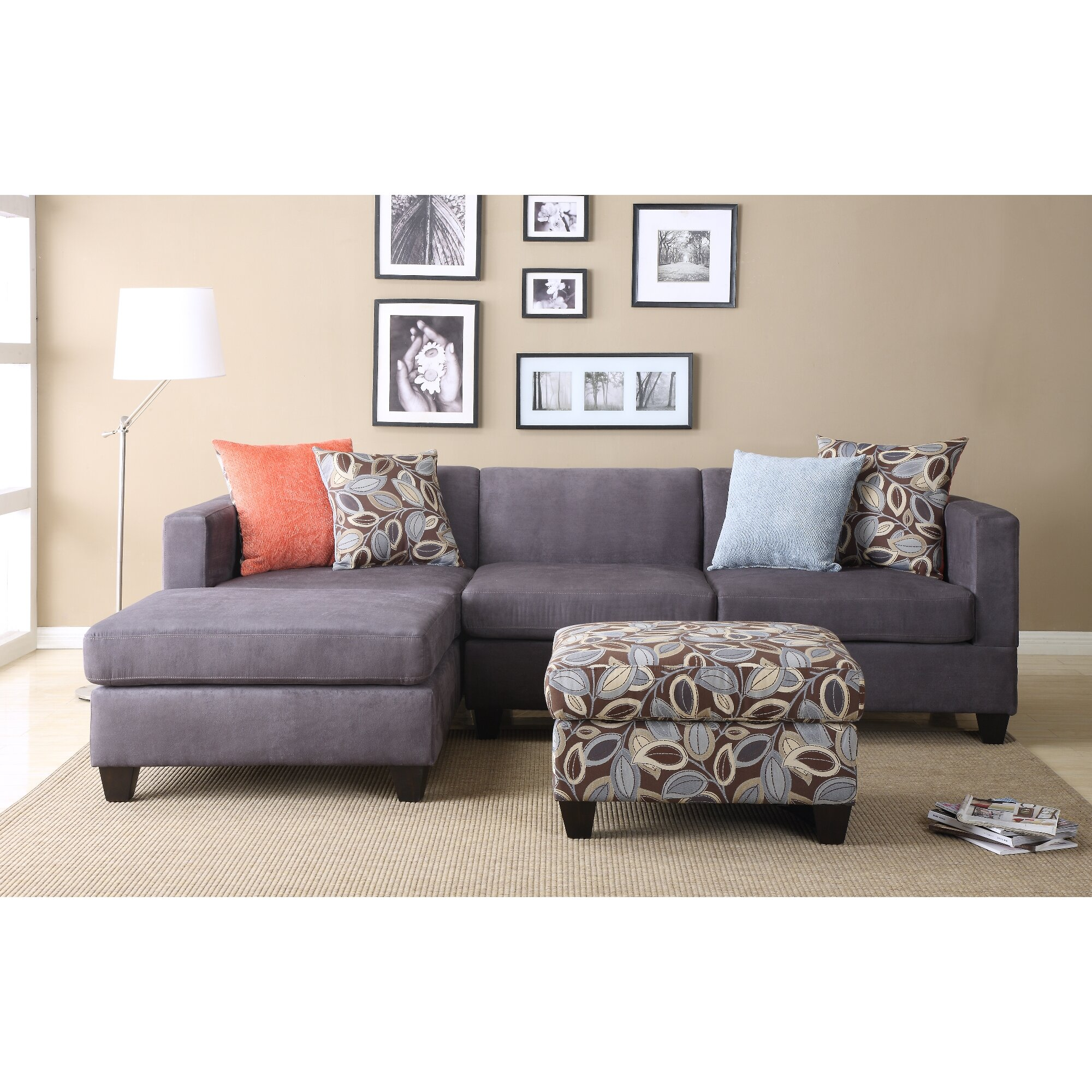 Living Room Sectionals With Chaise Sofa Chaise Sectional Sofas Youll Love Wayfair