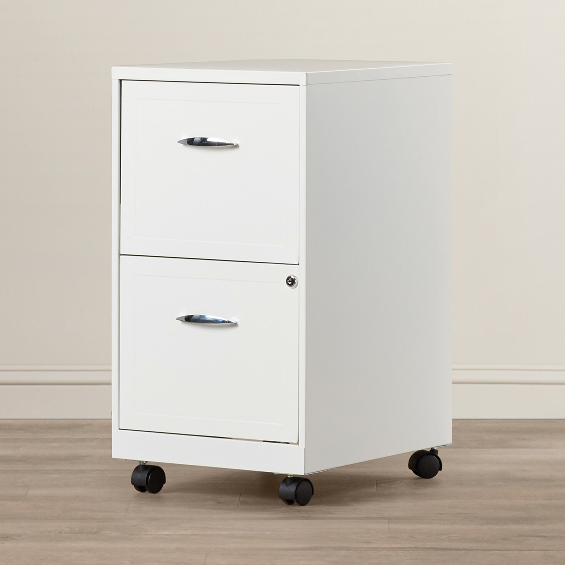 Roll Around File Cabinets Zipcode Design Gigi 2 Drawer Mobile File Cabinet Reviews Wayfair