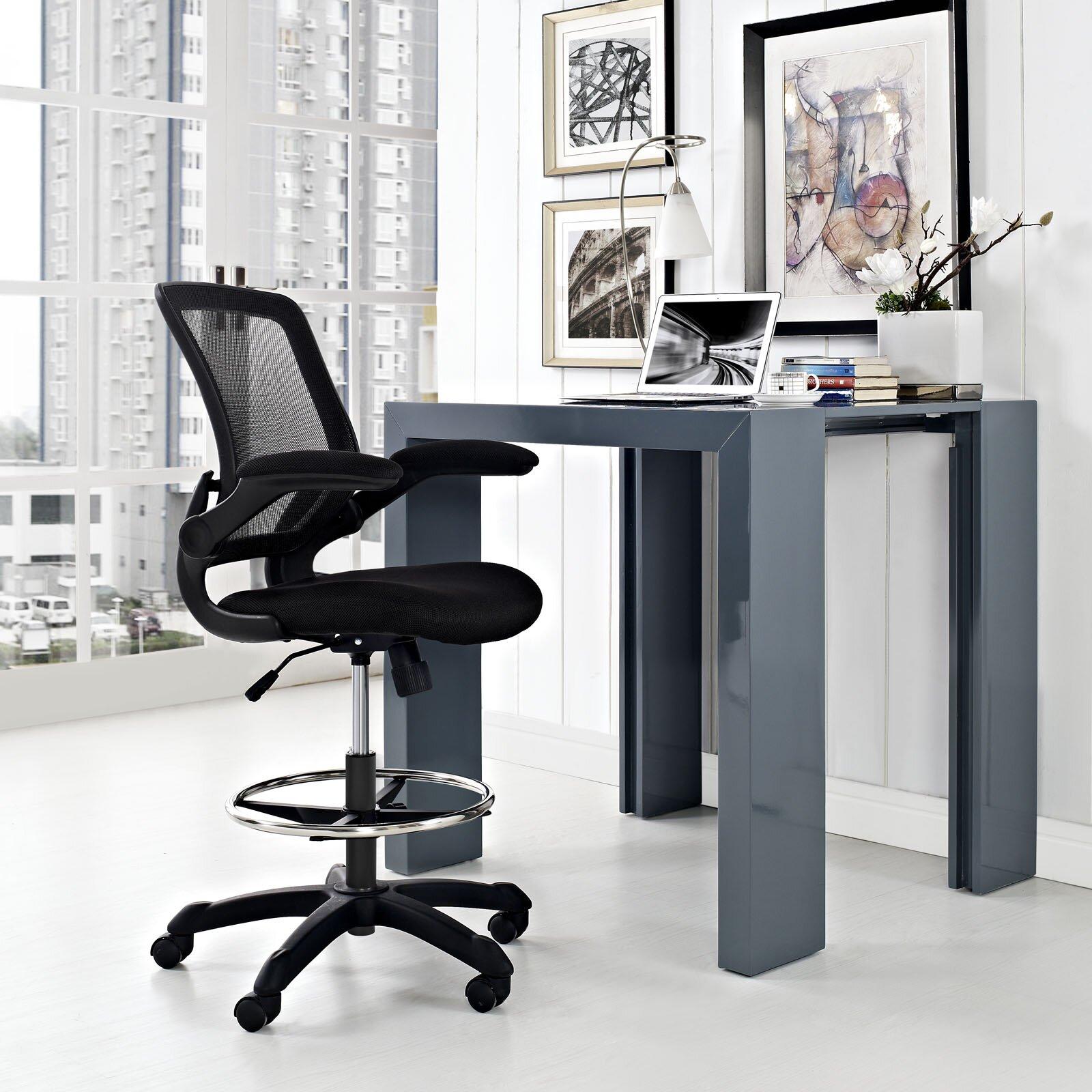 Zipcode Design Gail HighBack Mesh Drafting Chair Reviews – High Drafting Chair