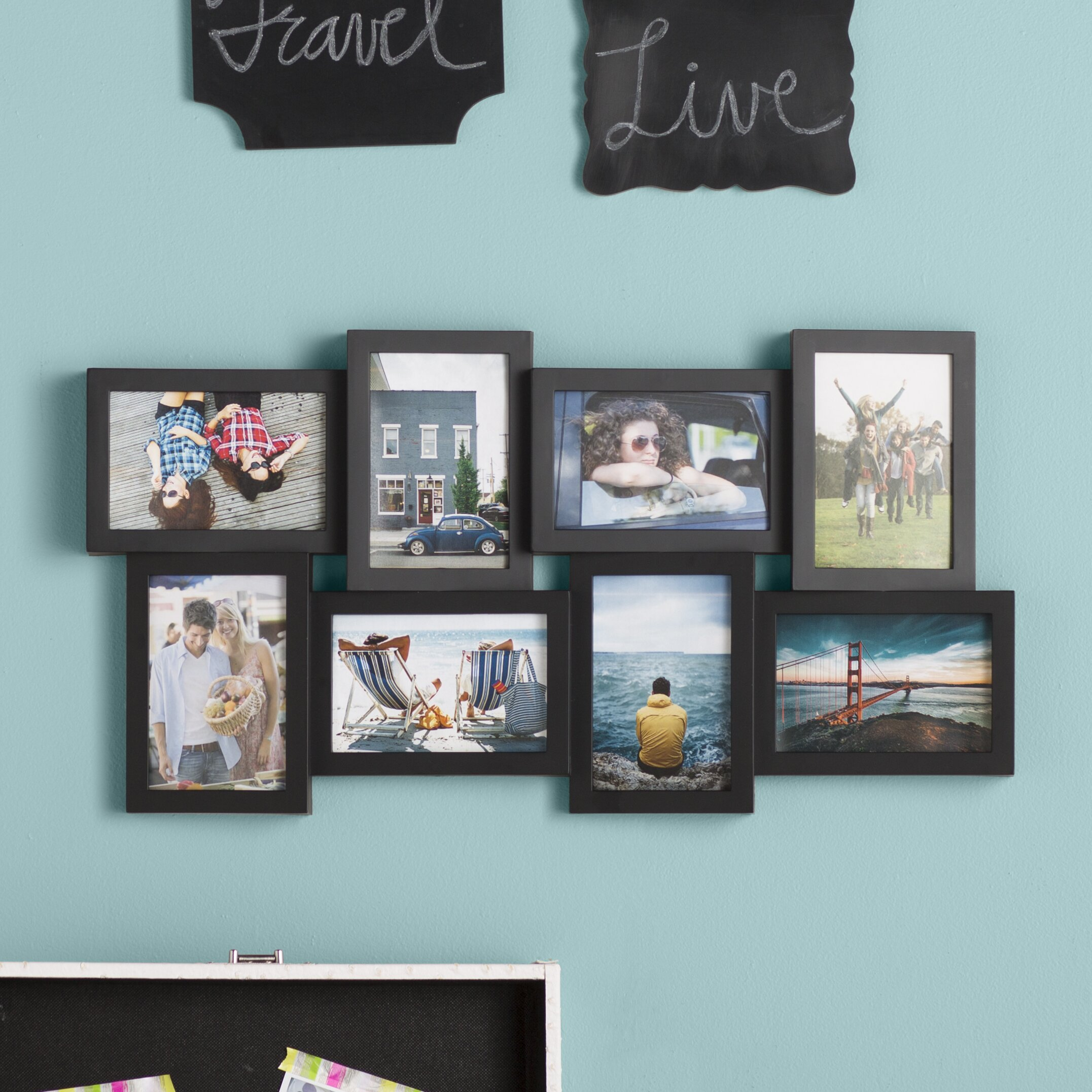 zipcode design jolene 8 opening collage picture frame