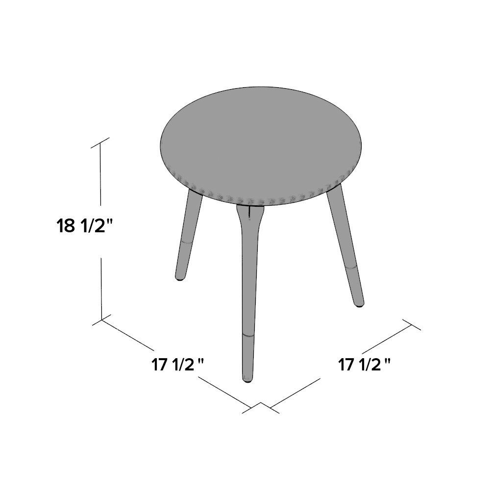 raw concrete counter height table