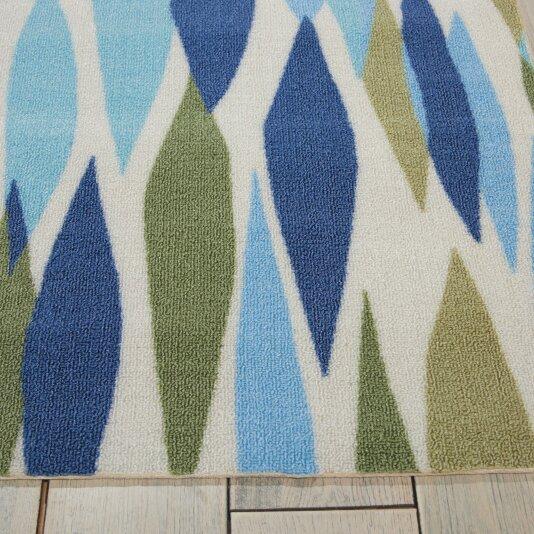 Zipcode™ Design Gloria Blue/Green Indoor/Outdoor Area Rug