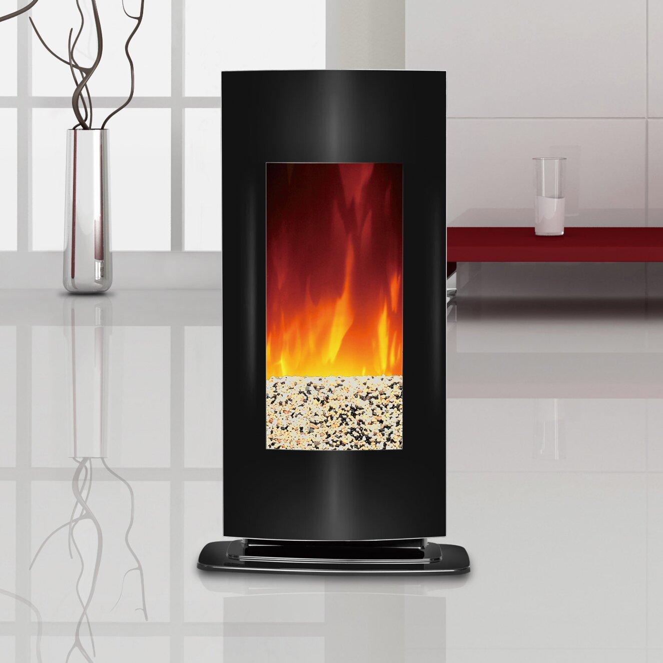 Aleigha Wall Mount Electric Fireplace - Modern Electric Fireplaces AllModern