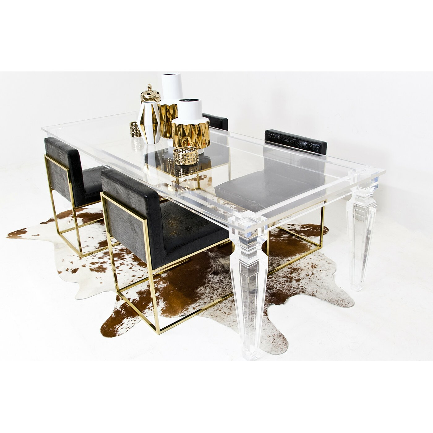 ModShop Lucite Palm Beach Dining
