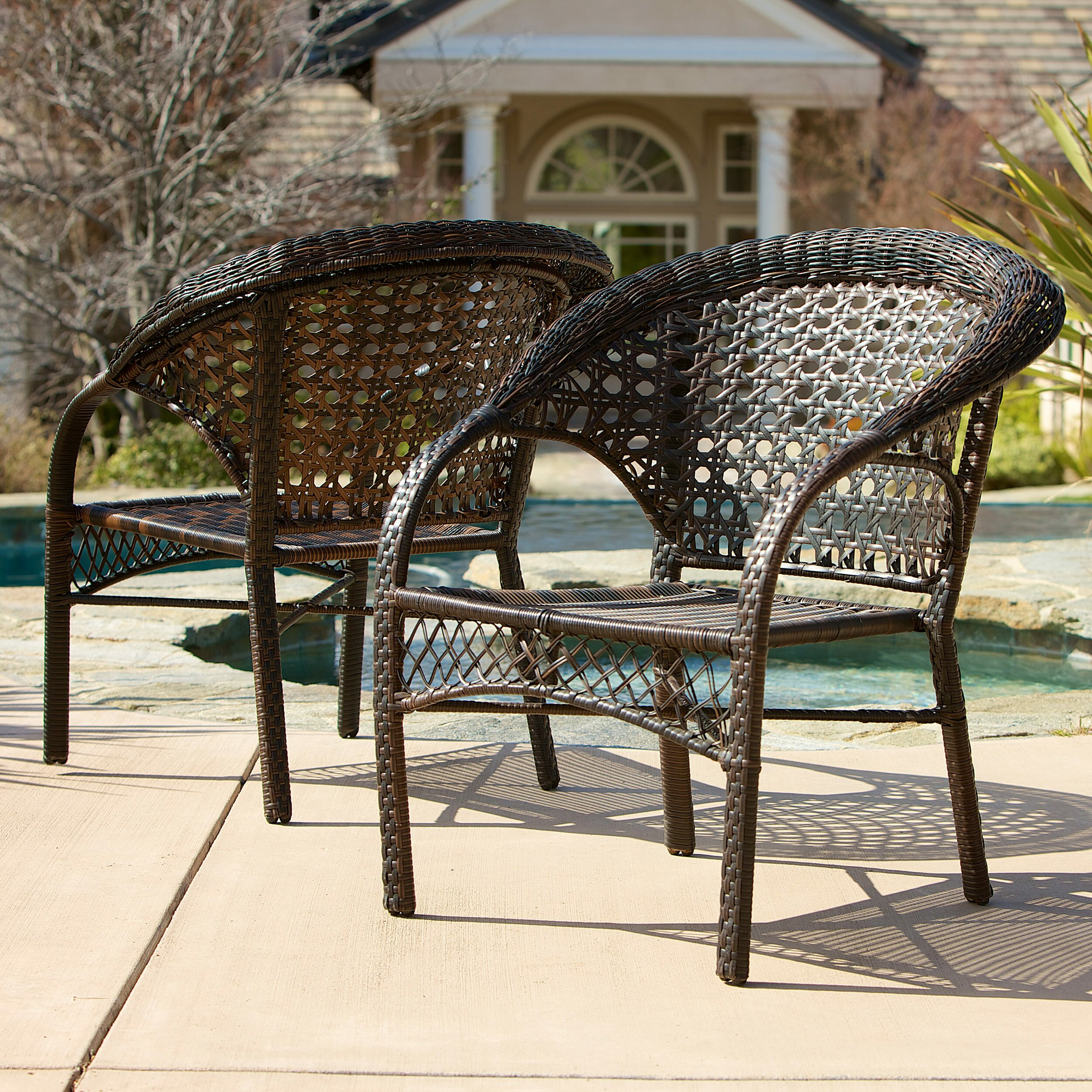 Exceptional ... Home Loft Concepts Darlington Outdoor Wicker Chairs ...