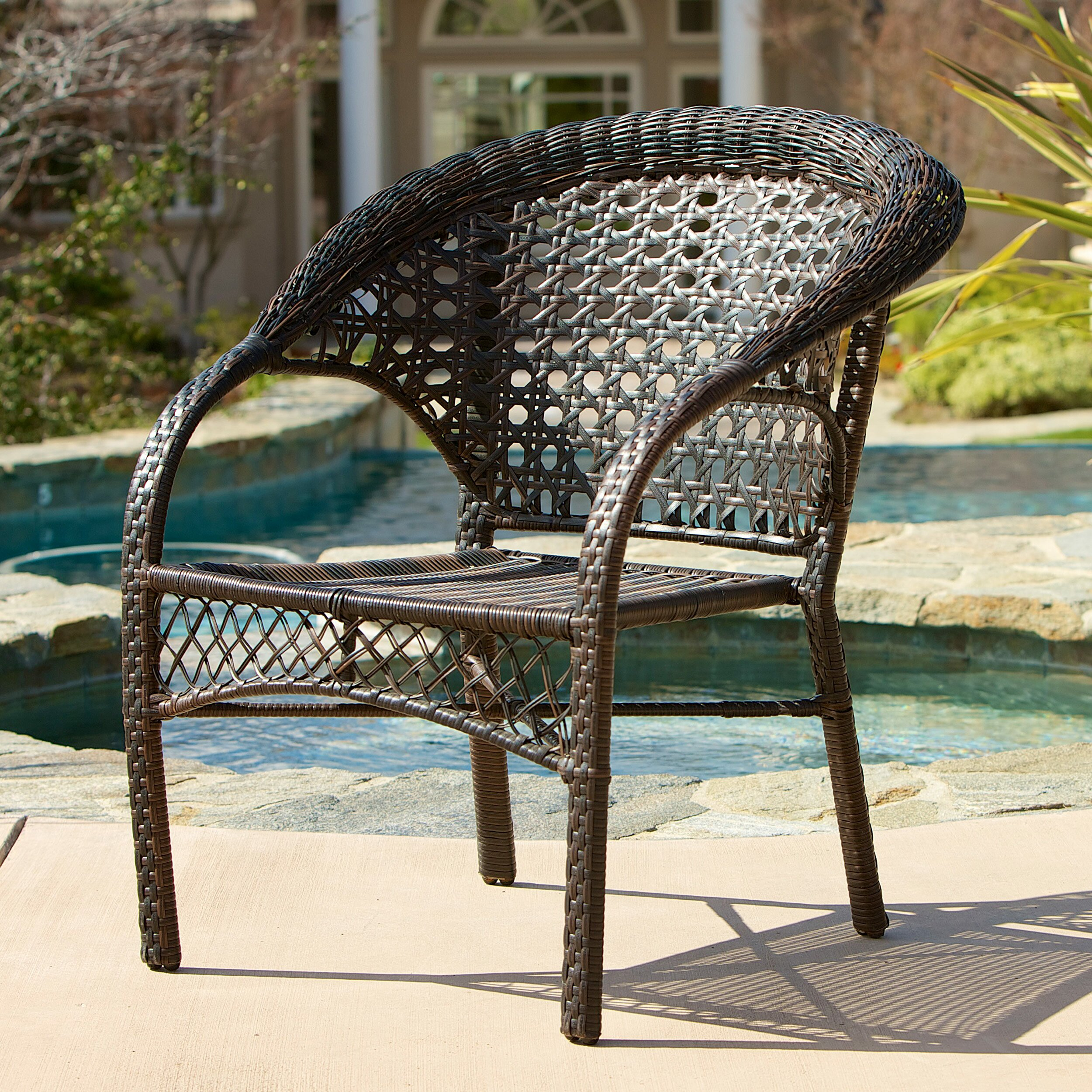 ... Home Loft Concepts Darlington Outdoor Wicker Chairs ...