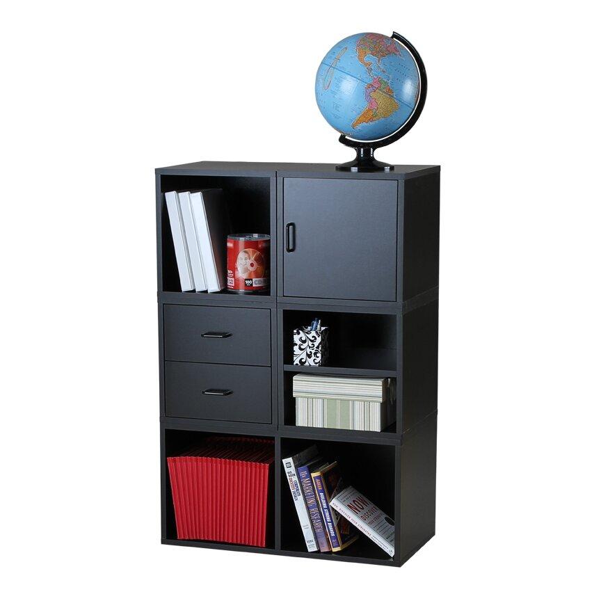 Carrabba Storage Cube 45 Unit Bookcase