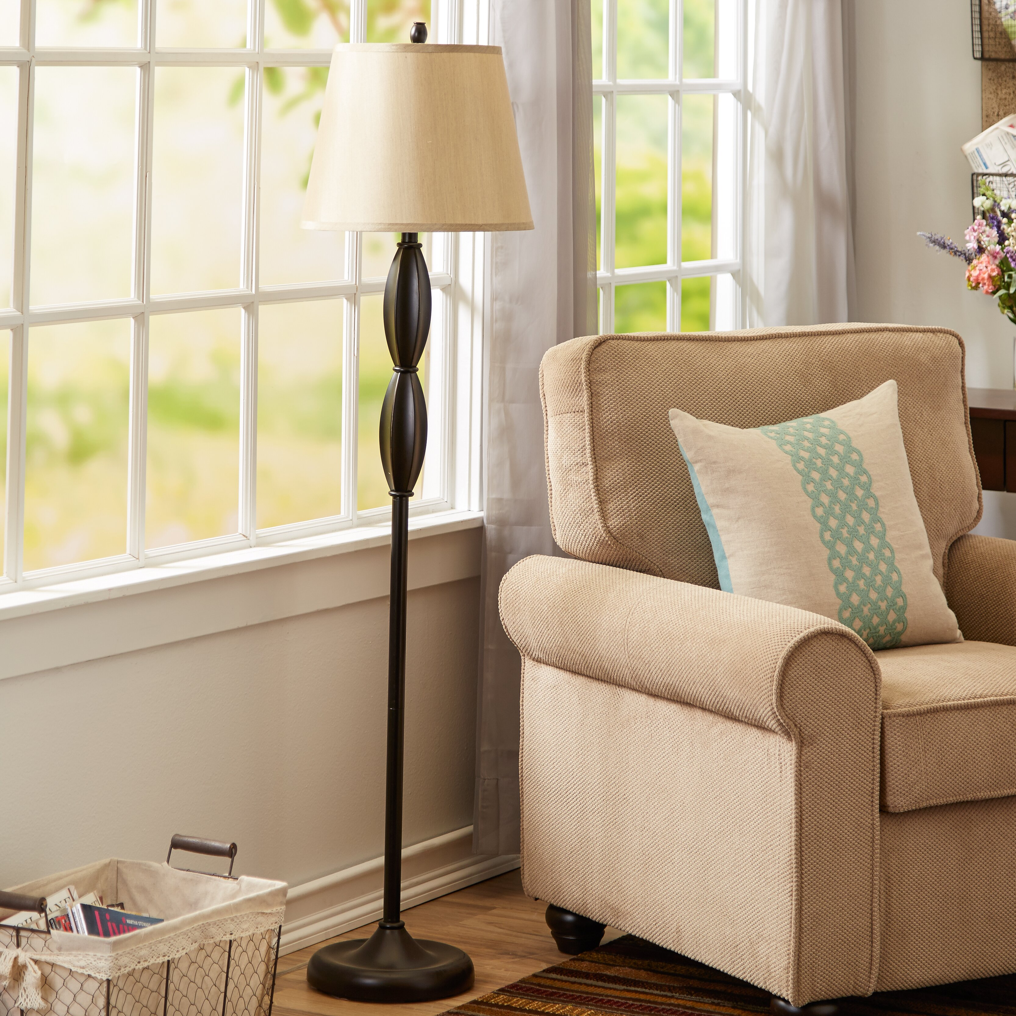 Living Room Lamp Sets Andover Mills 3 Piece Table And Floor Lamp Set Reviews Wayfair