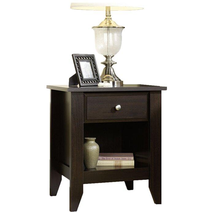 Cornwell 1 Door Drawer Nightstand Ohio Hardwood Furniture