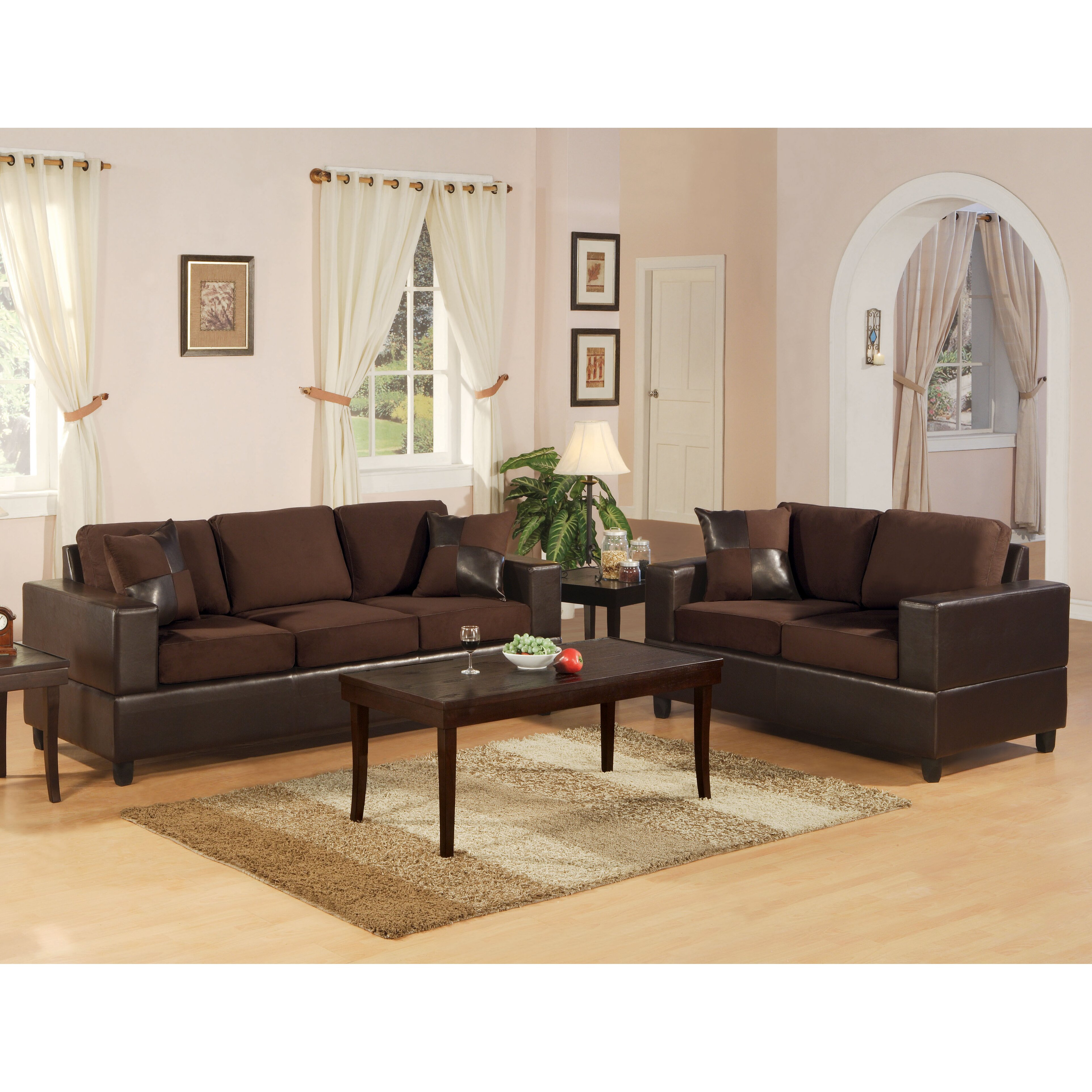 Living Room Sofa And Loveseat Sets Andover Mills Corporate 2 Piece Sofa And Loveseat Set Reviews