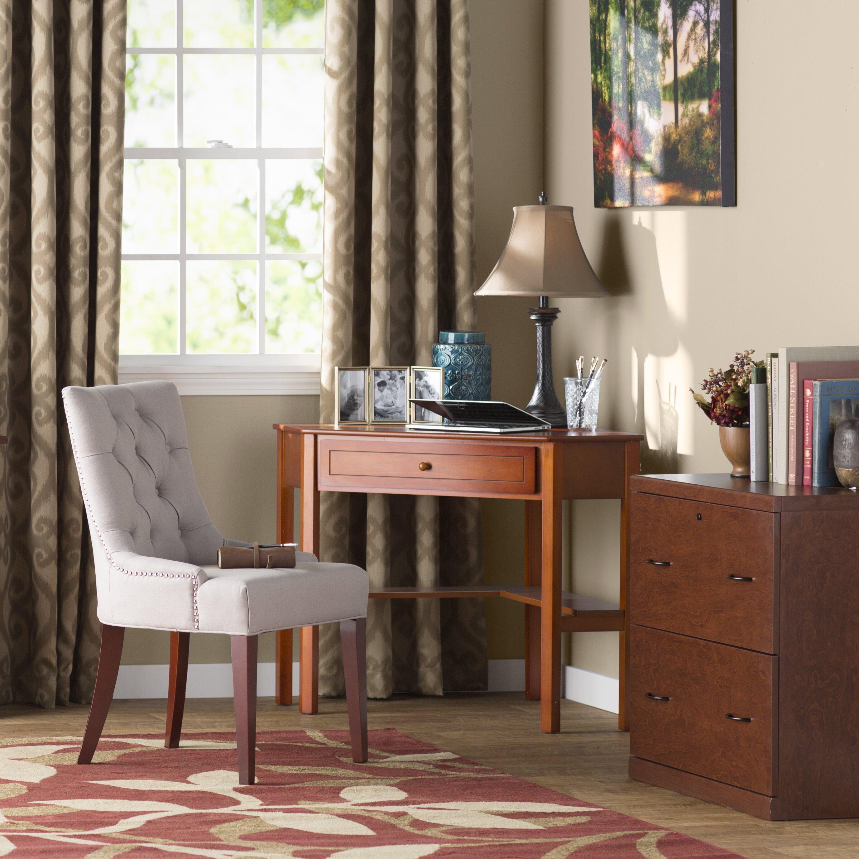 Andover Mills Anka 1 Drawer Corner Writing Desk Amp Reviews