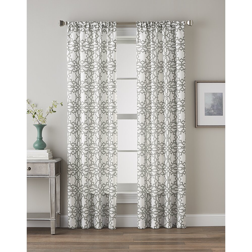 Sunflower Curtains For Kitchen 63 Inch 83 Inch Curtains Drapes Youll Love Wayfair