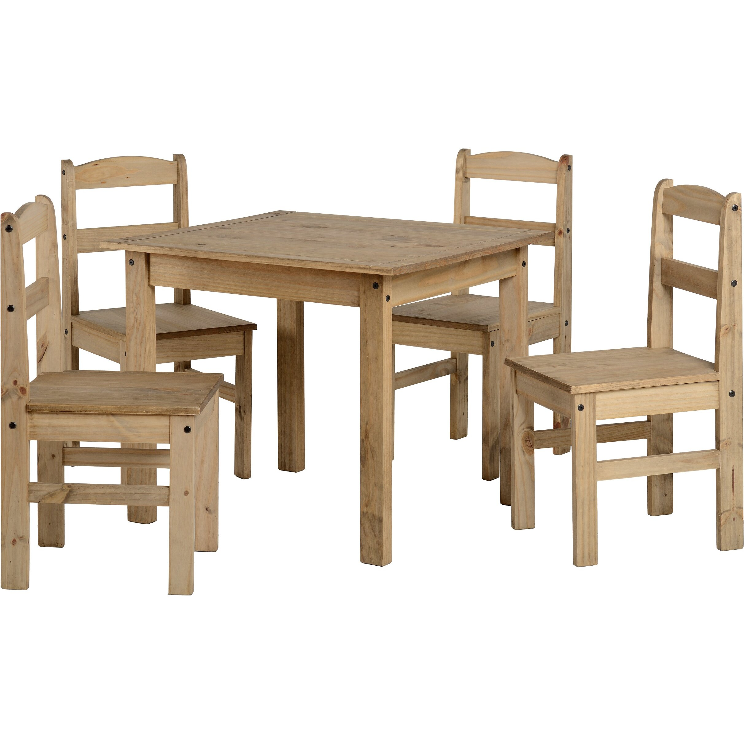 Home Haus Balder Dining Table And 4 Chairs Reviews