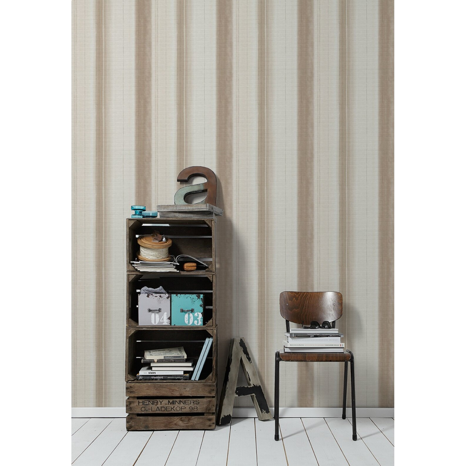 Dcor design x 53cm 3d embossed wallpaper wayfair for Wayfair bathroom wallpaper