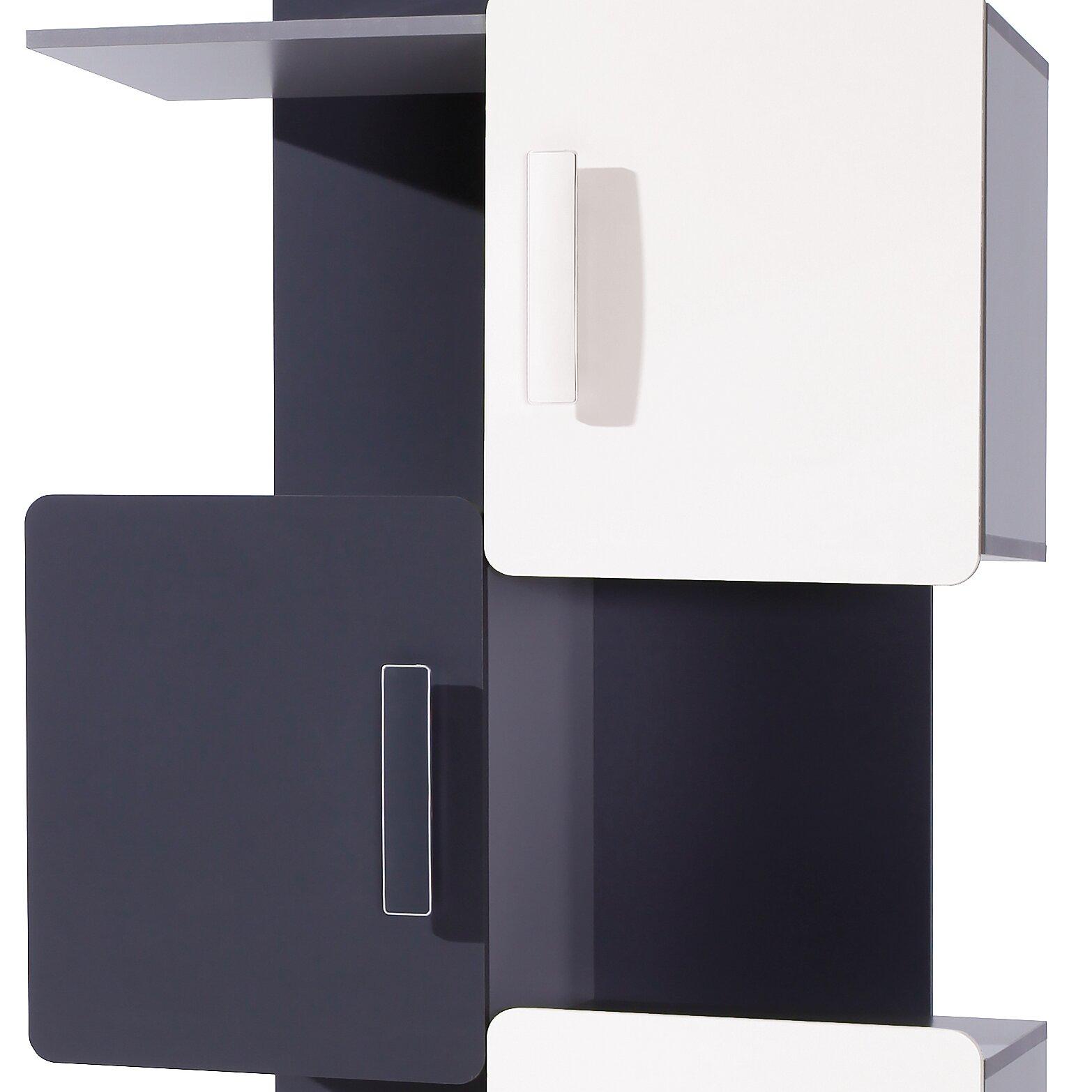 dcor design - dcor design liwia bookcase reviews wayfaircouk