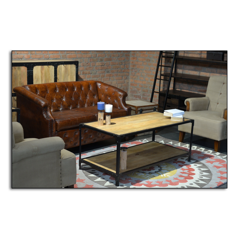 Style Coffee Table Style N Living Captain Coffee Table Wayfair