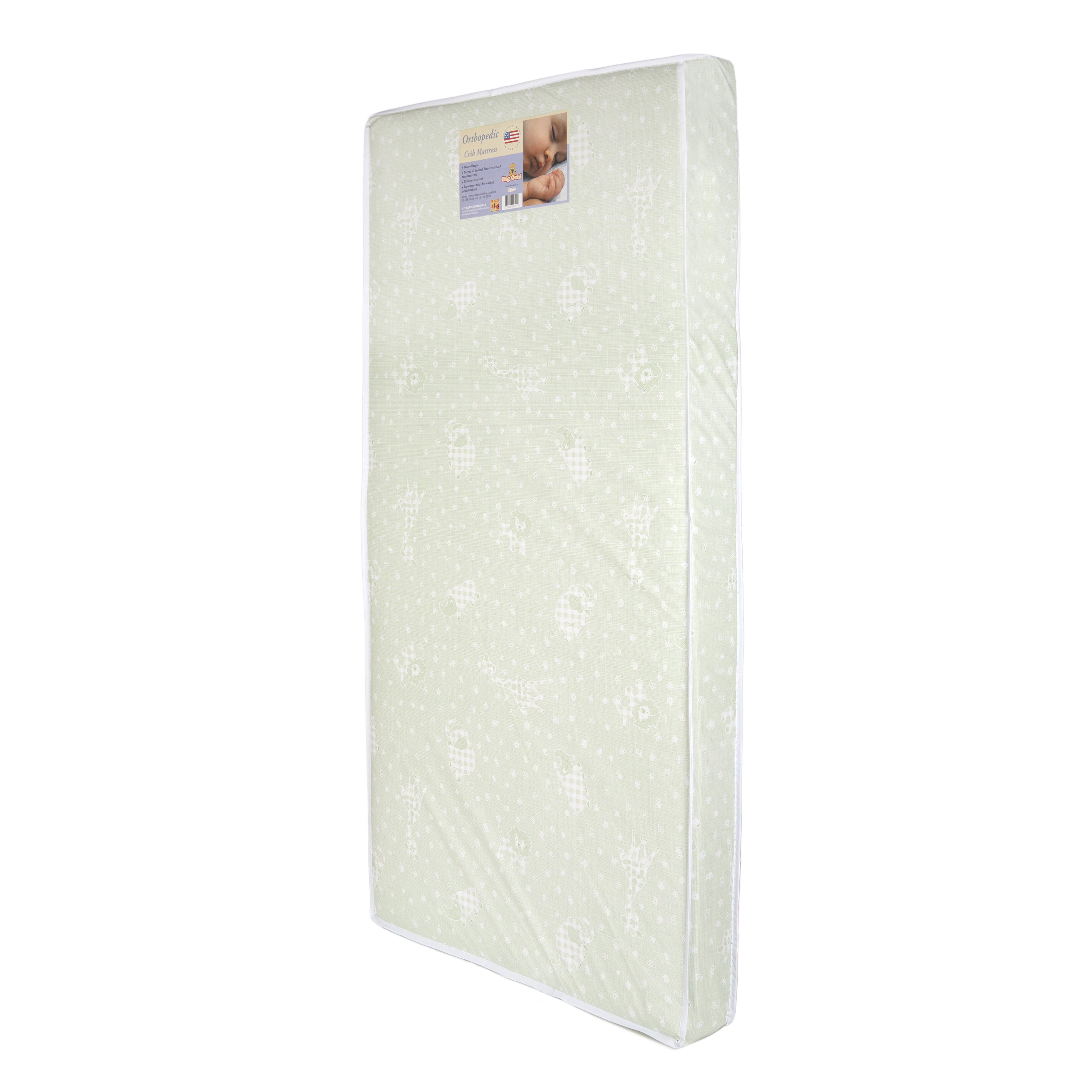 Baby cribs with mattress - Baby Time International Inc Big Oshi 4 Quot Crib And Toddler Mattress