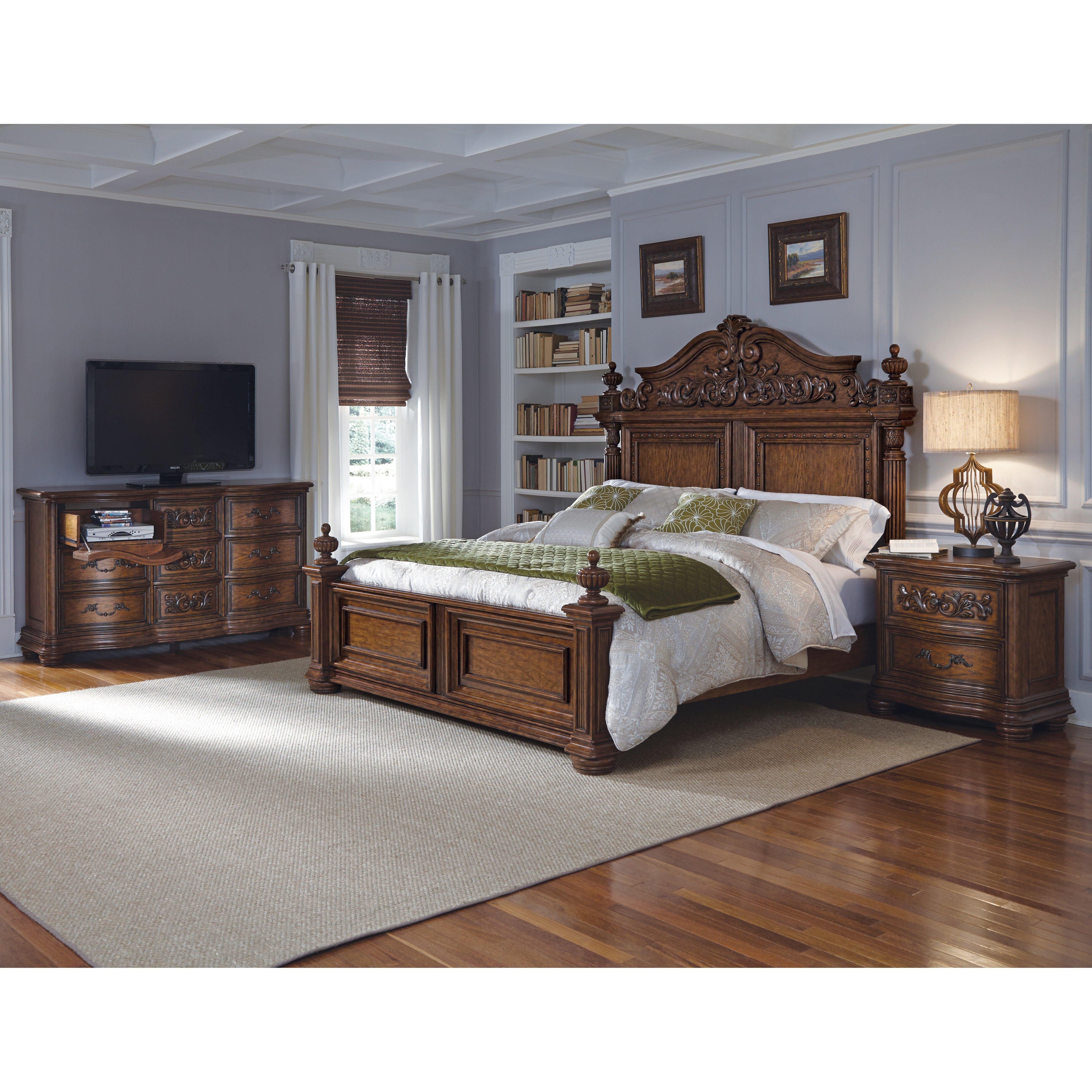 furniture bedroom furniture queen bedroom sets pulaski sku pu5358