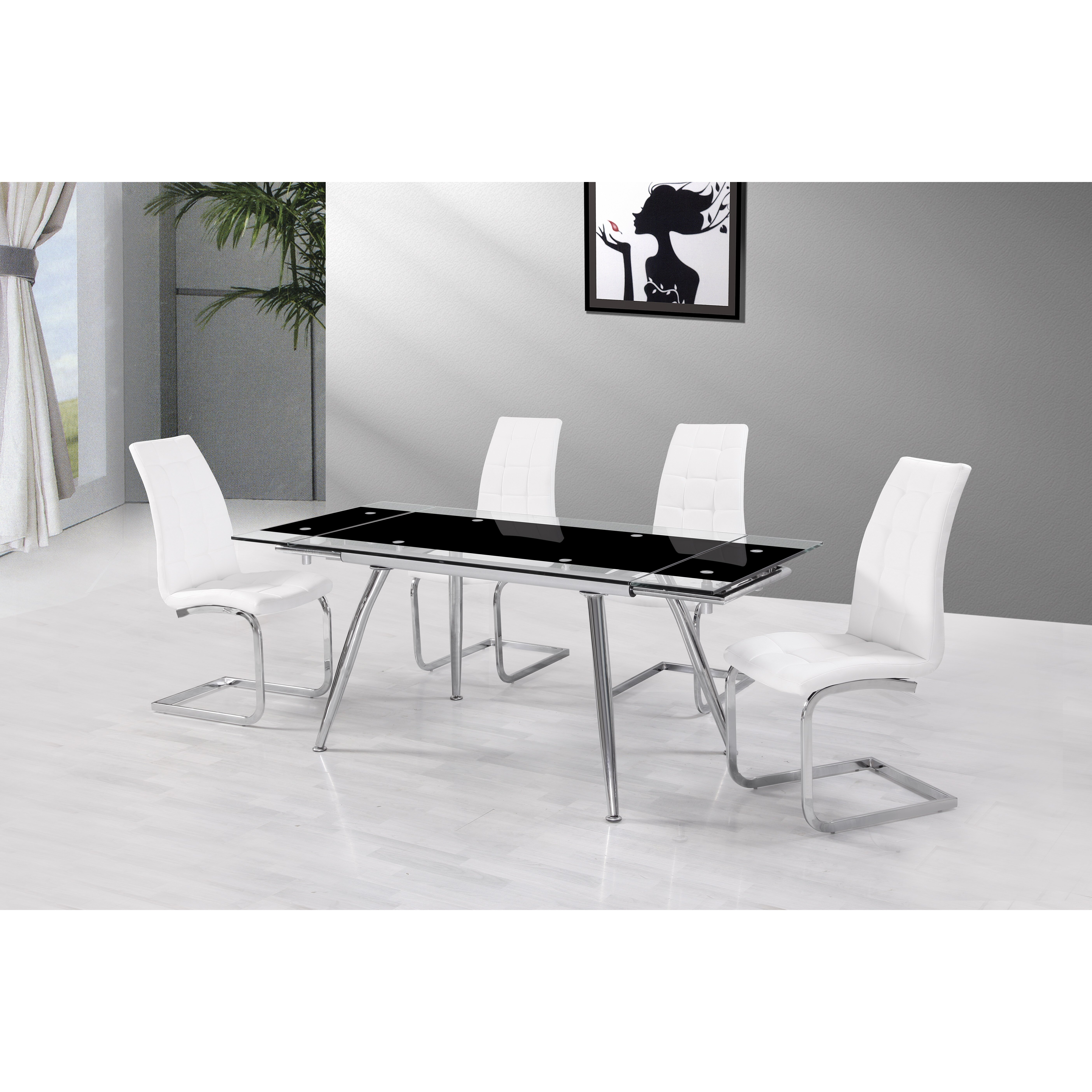 Urban Designs Micha Extendable Dining Table amp Reviews  : Urban Designs Micha Extendable Dining Table from www.wayfair.co.uk size 5616 x 5616 jpeg 3190kB