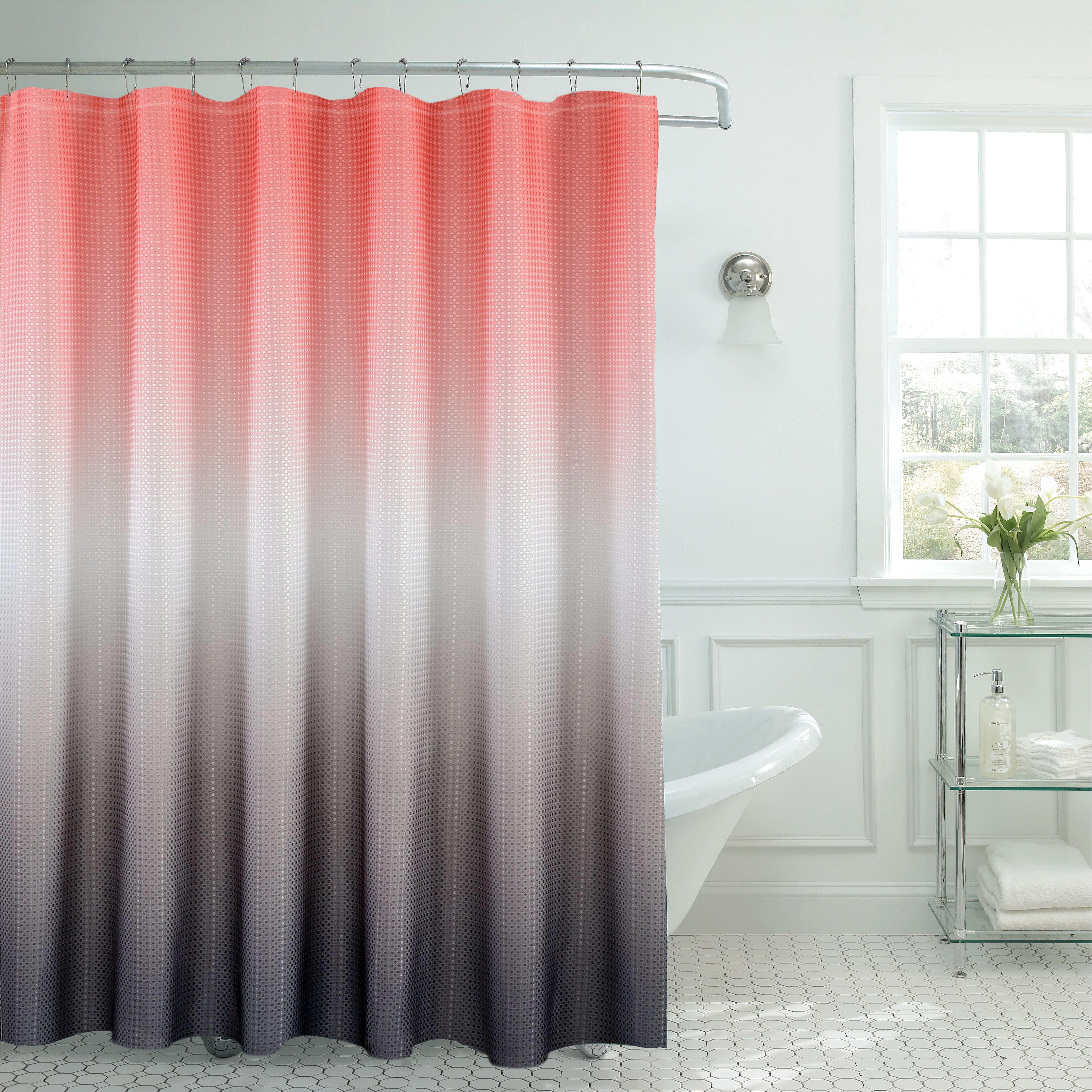 bath fusion ombre shower curtain reviews