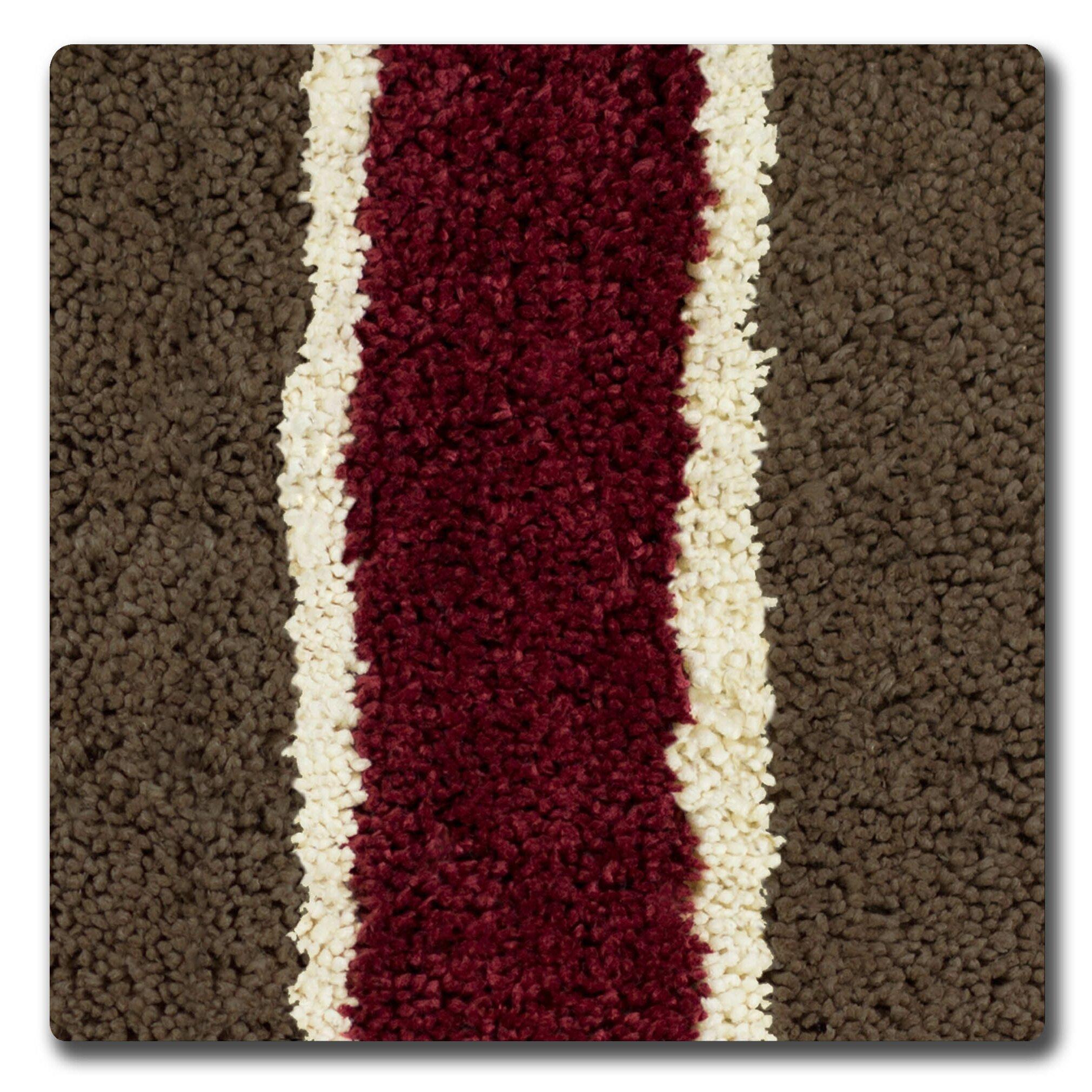 bath studio herald microfiber bath rug & reviews | wayfair