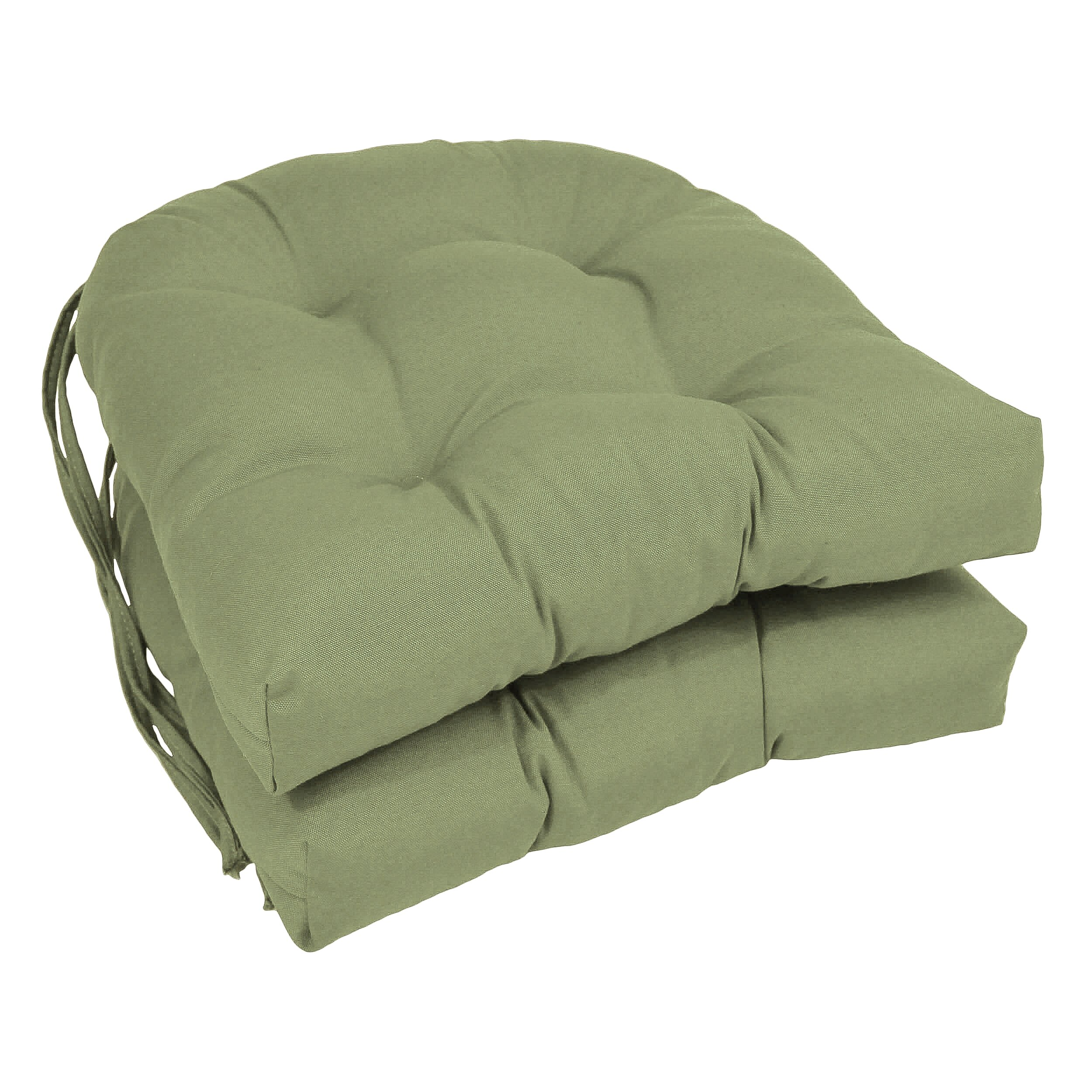 Three Posts Outdoor Solid Twill Dining Chair Cushion