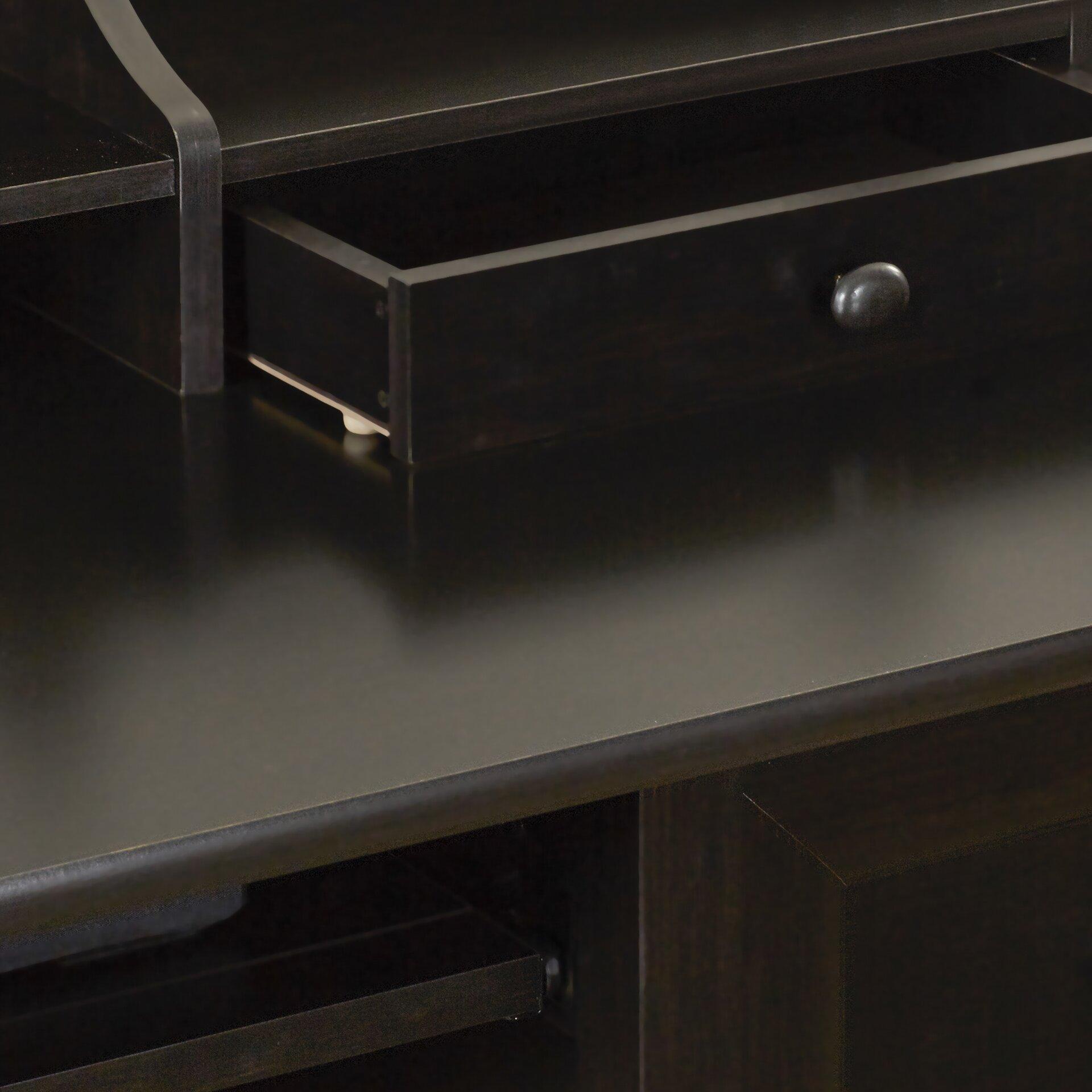 Three Posts Lamantia Computer Desk With Hutch Amp Reviews