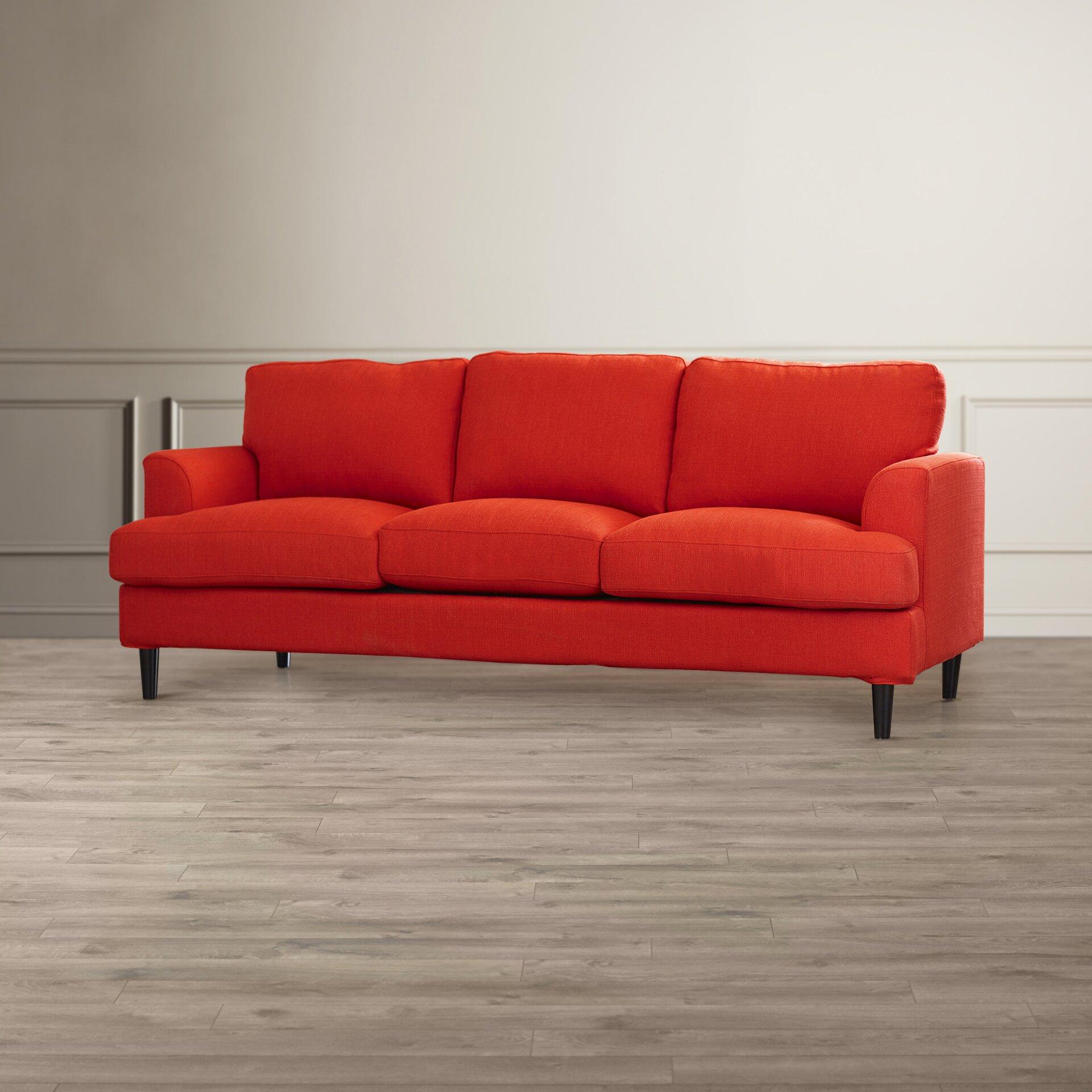 handy living tevin navy blue velvet storage arm futon sofa