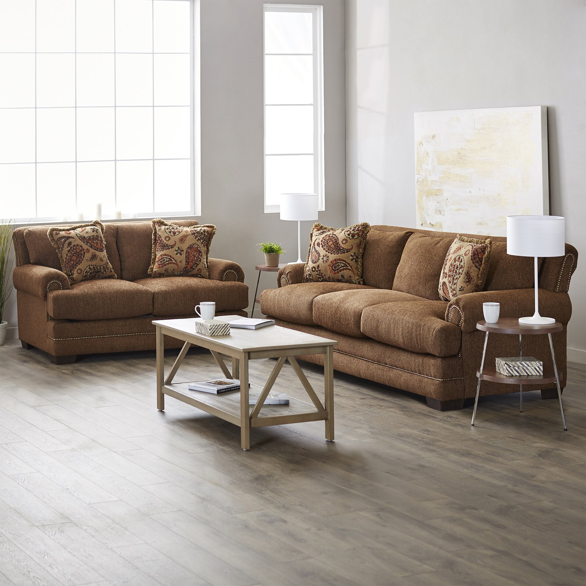 ... Three Posts Serta Upholstery Allen Living Room Collection ... Part 62