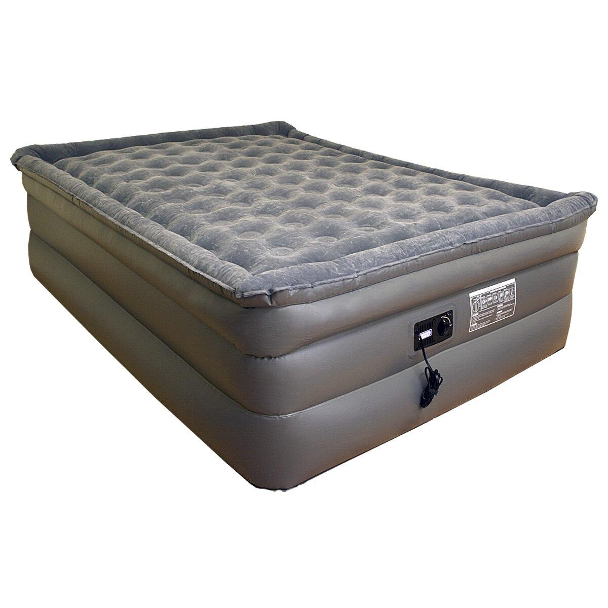 Slumberland Bedroom Furniture Airtek Slumberland Deluxe Comfort 26 Raised Pillowtop Air