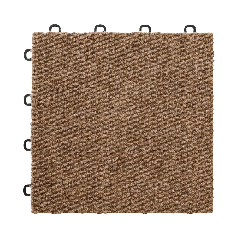 Interlocking Kitchen Floor Tiles Blocktile 12 X 12 Premium Interlocking Basement Floor Carpet
