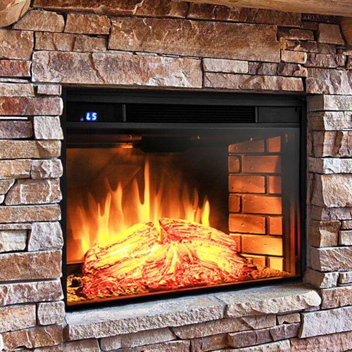 AKDY Wall Mount Electric Fireplace Insert - AKDY Wall Mount Electric Fireplace Insert & Reviews Wayfair