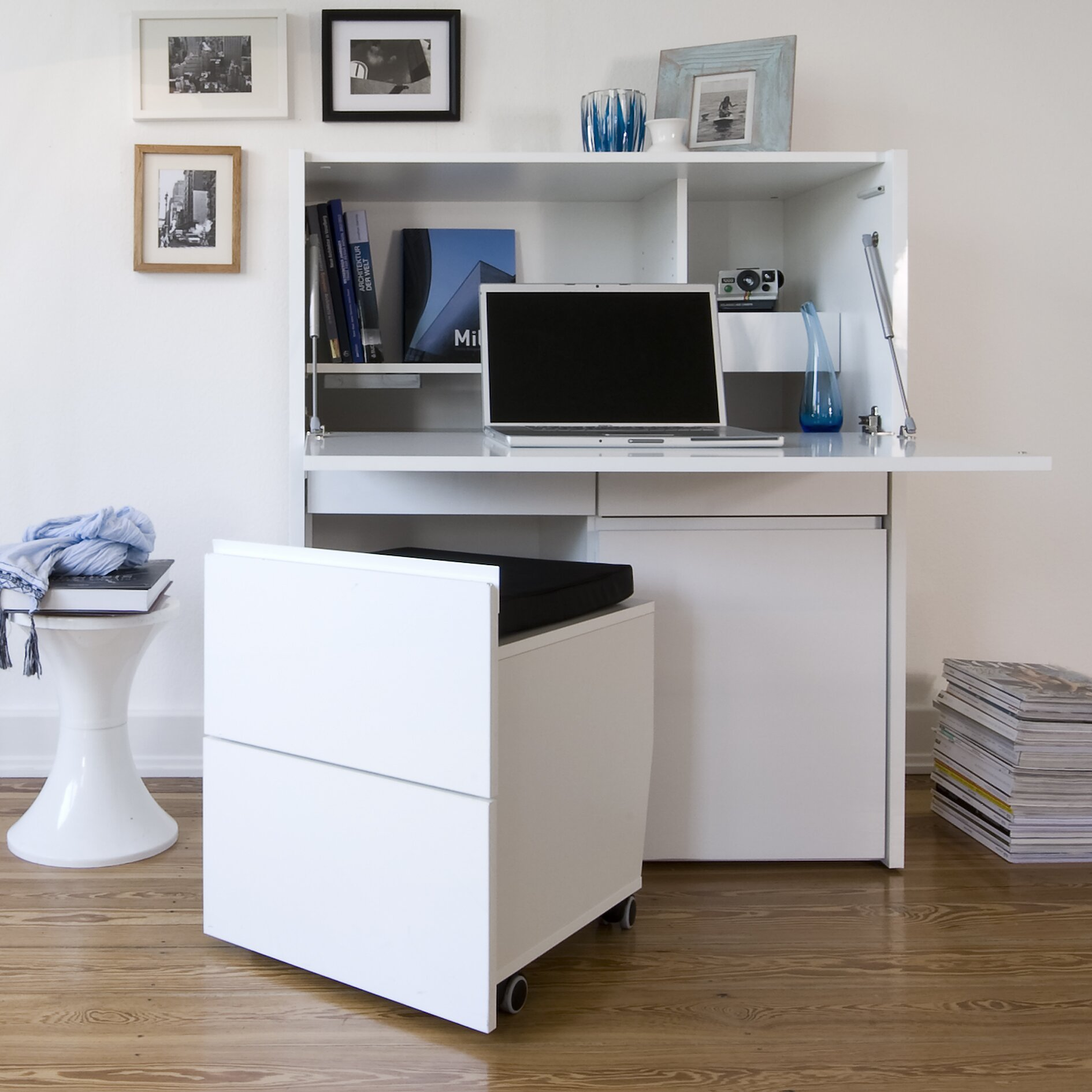 Jahnke Sitwork 300 Computer Desk With Cabinet & Reviews