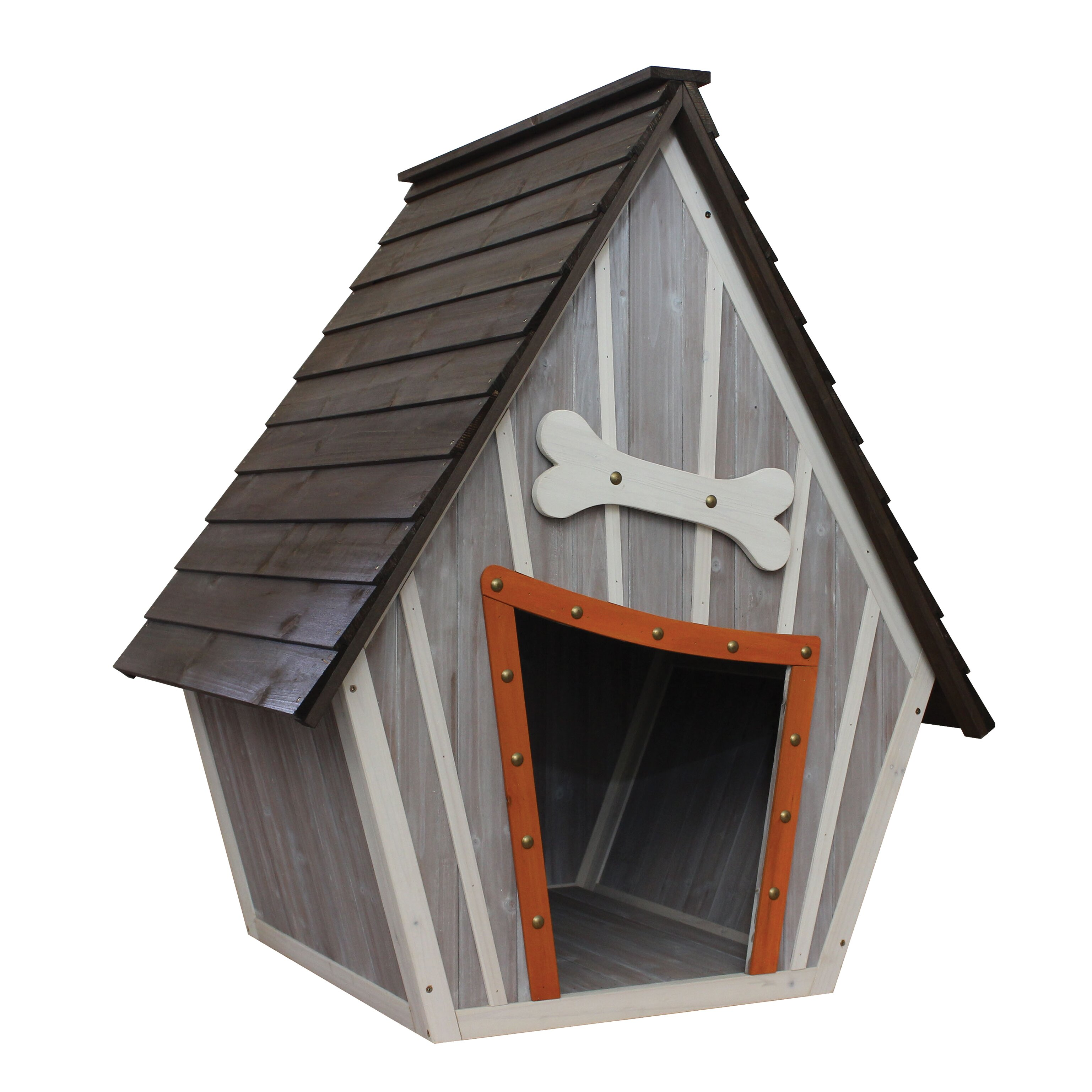 innovation pet houses and paws whimsical dog house reviews wayfair. Black Bedroom Furniture Sets. Home Design Ideas