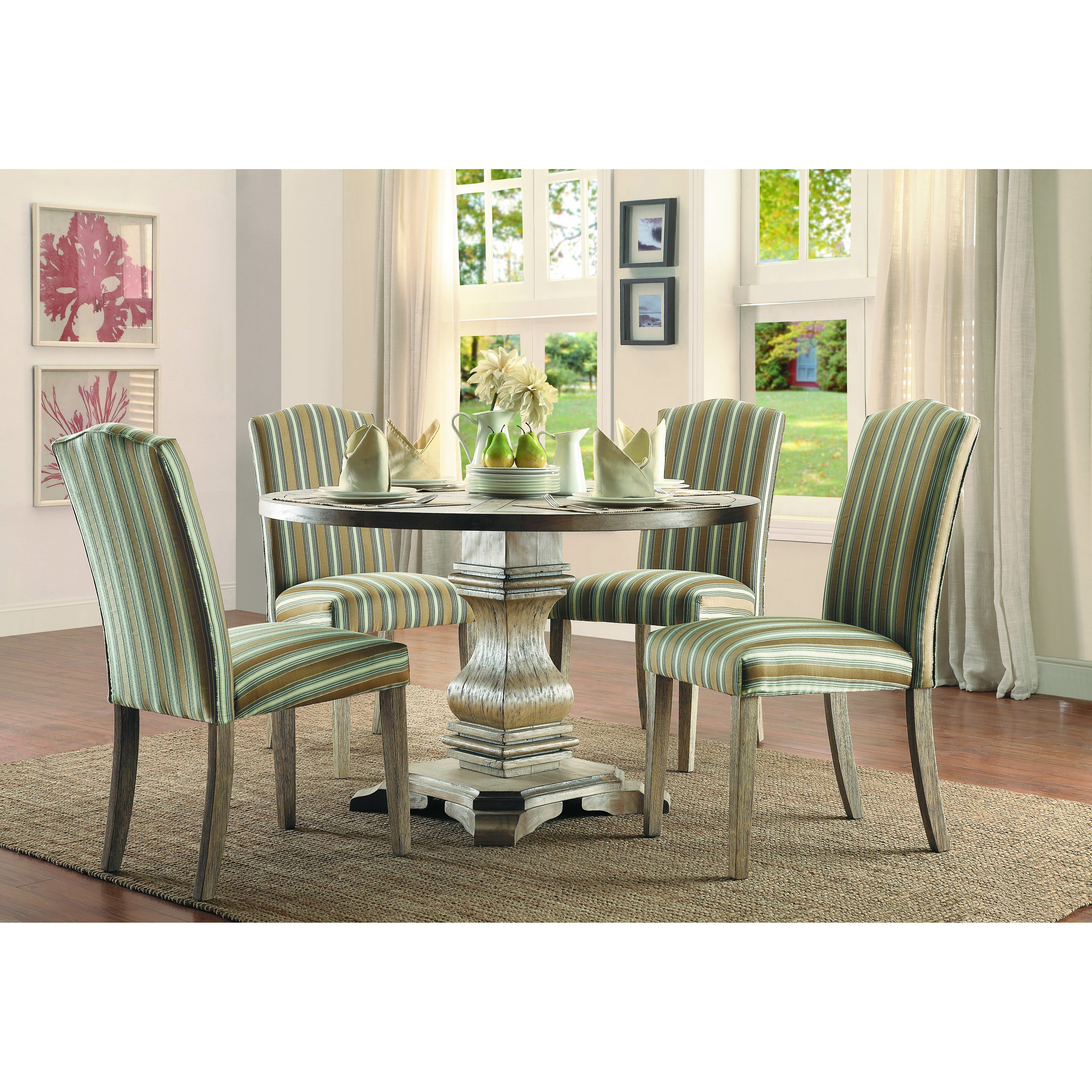 informal dining table setting. the importance of learning table