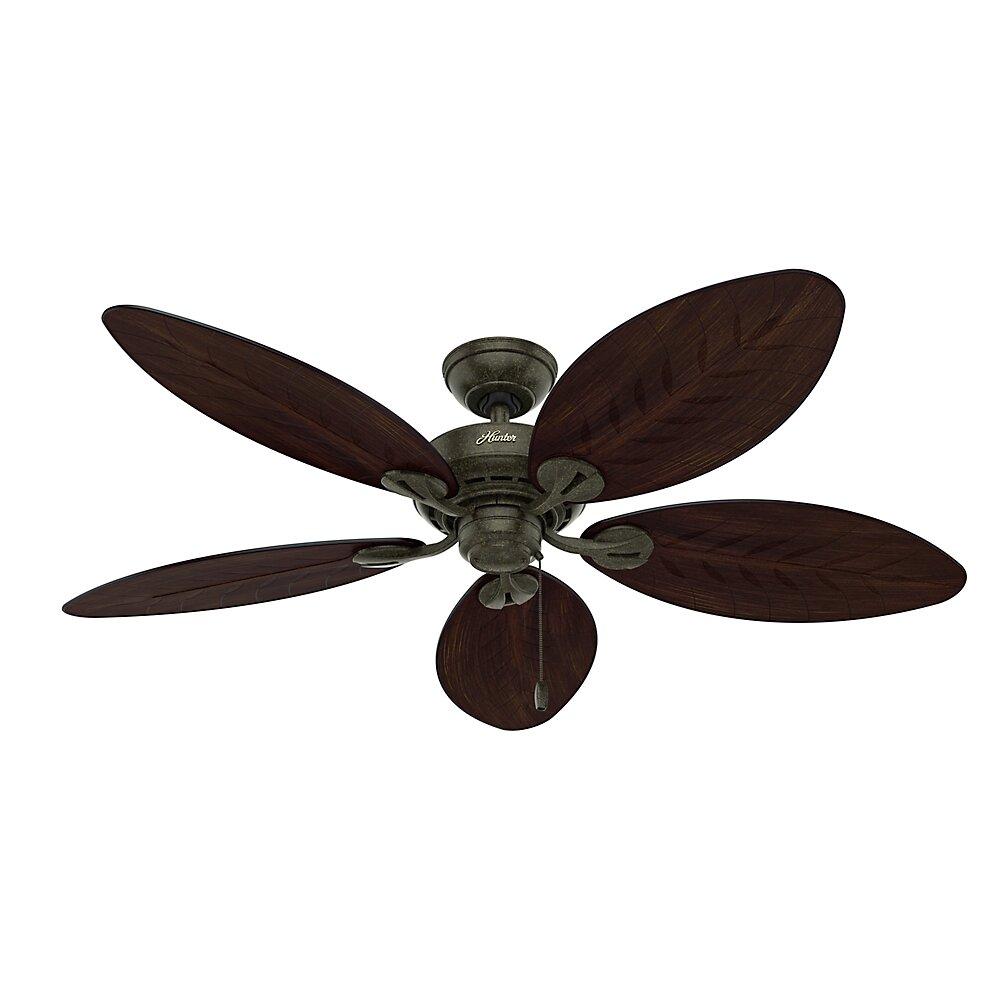"Hunter Fan 54"" Bayview 5 Blade Outdoor Ceiling Fan & Reviews | Wayfair"