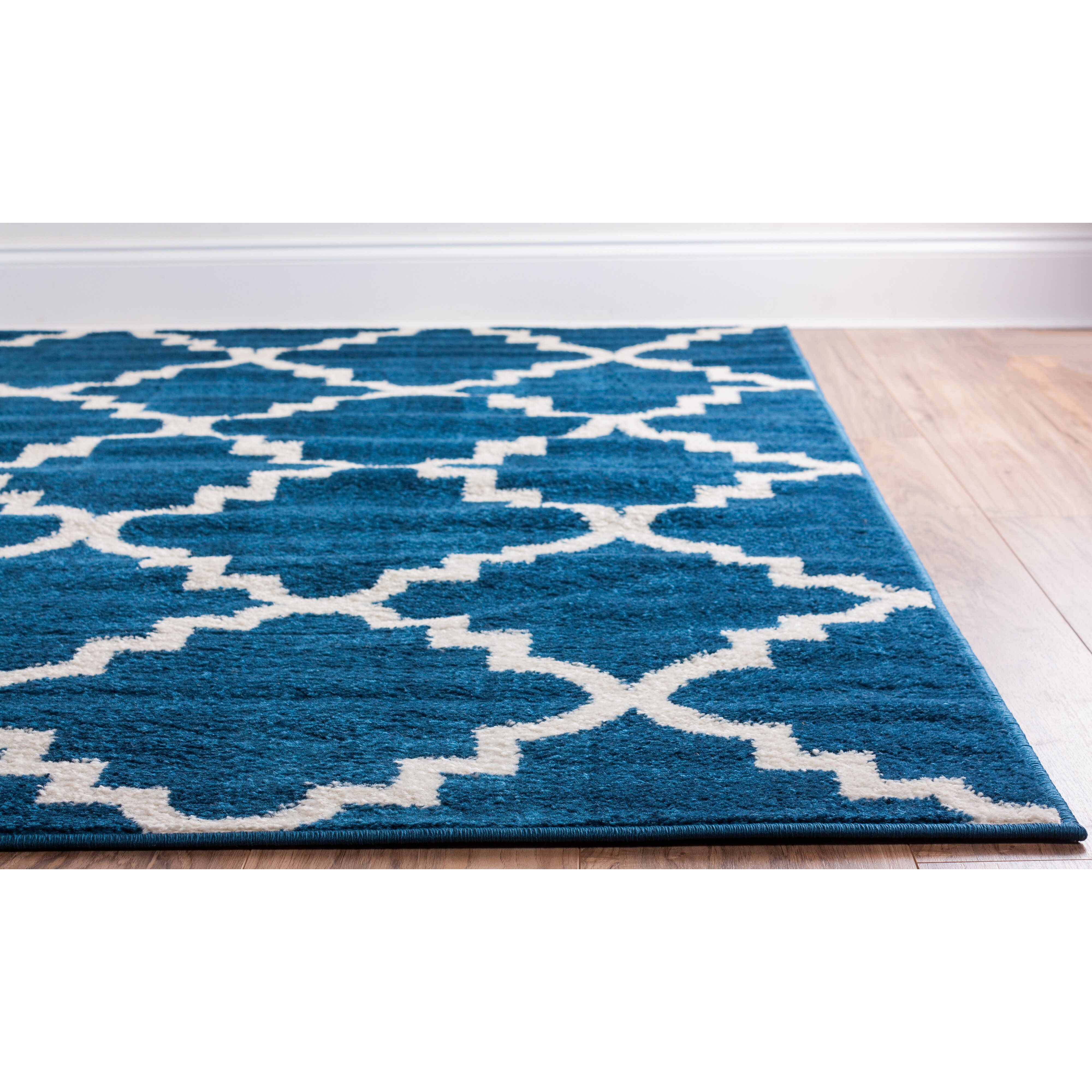 Well Woven Royal Court 3 Piece Blue Area Rug Set & Reviews