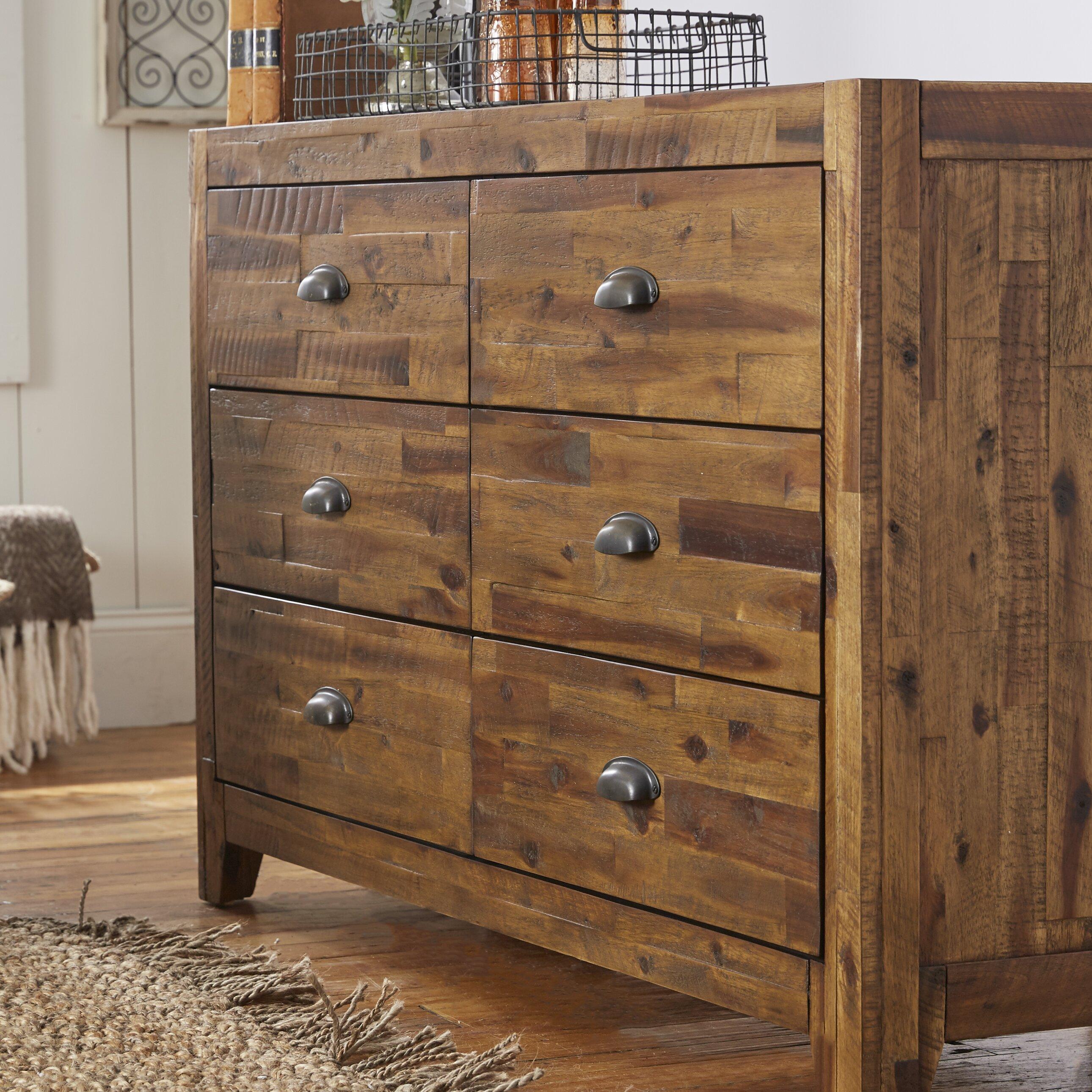 Magnussen Braxton 6 Drawer Dresser amp Reviews Wayfair
