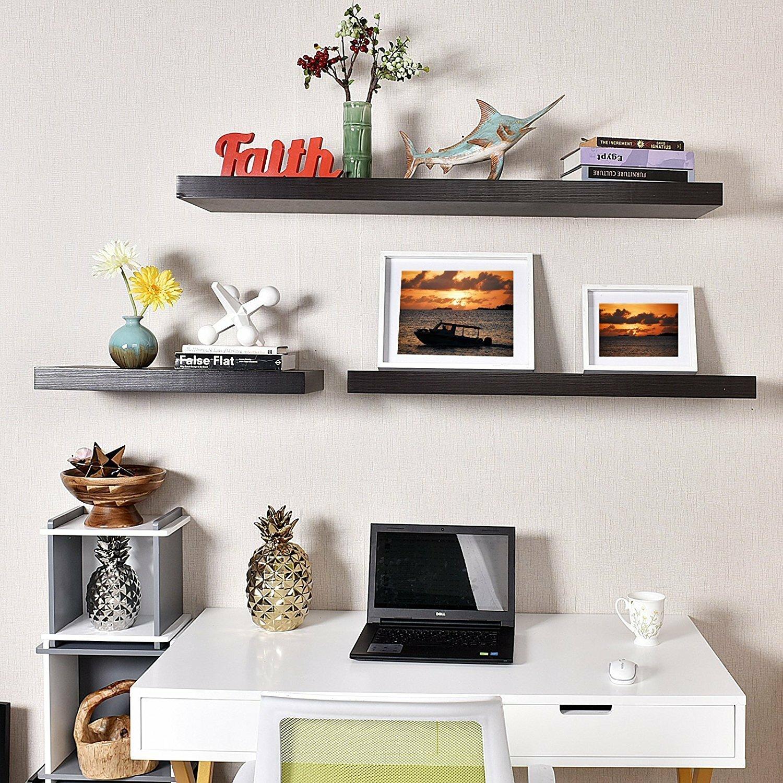 Welland industries llc grande floating wall shelf for Abanos furniture industries decoration llc